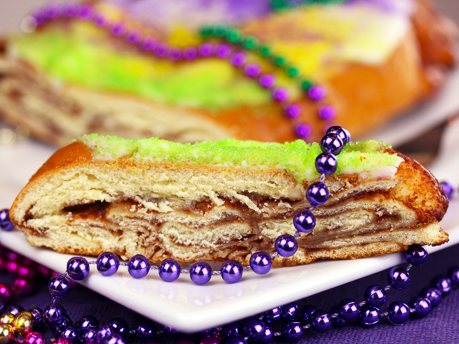 A Beer Aged on King Cakes Is Here in Time for Mardi Gras