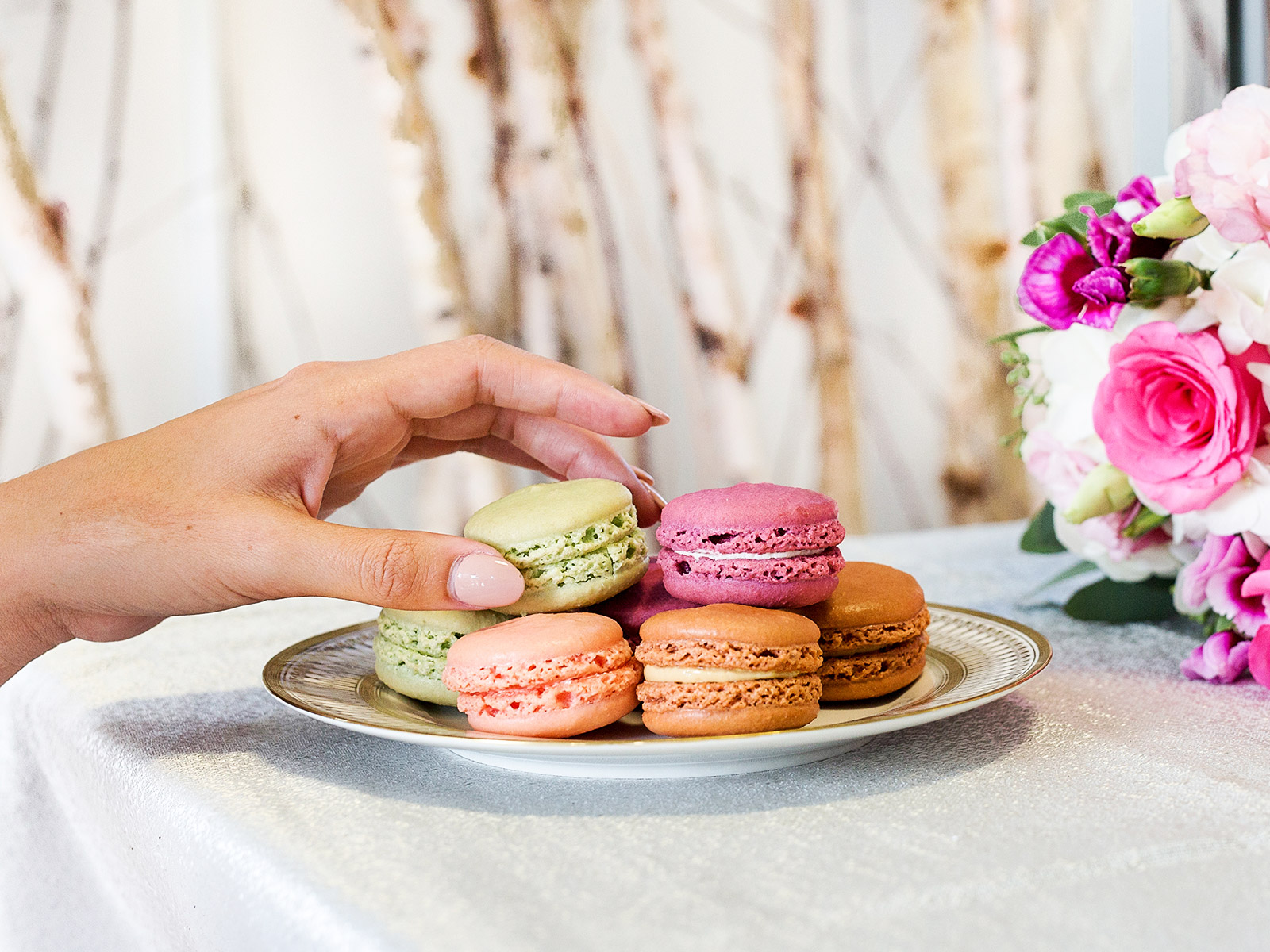 french pastries by mother an daughter le macaron company