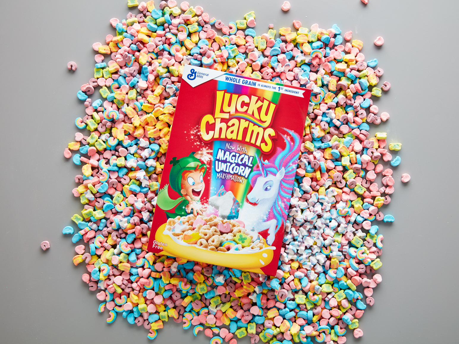 Lucky Charms Upgrades to \'Magical Unicorn\' Marshmallows | Food & Wine