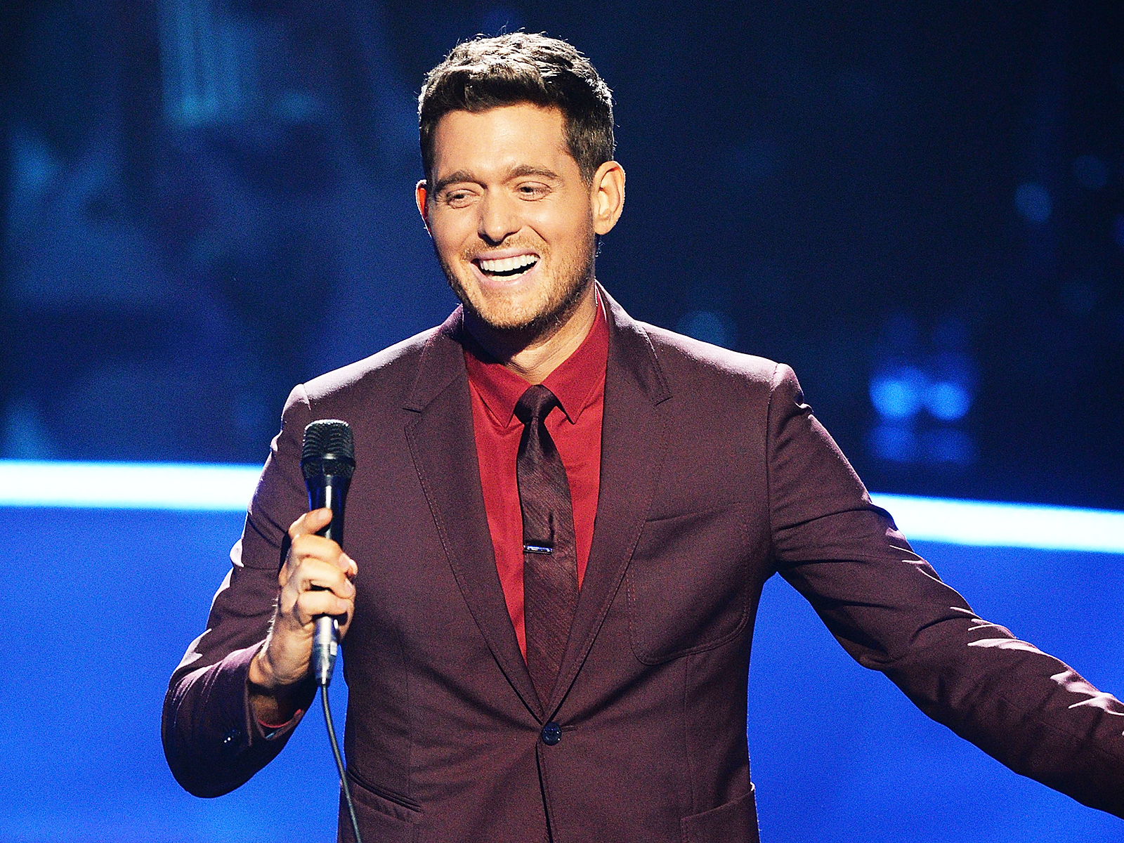 michael buble music video
