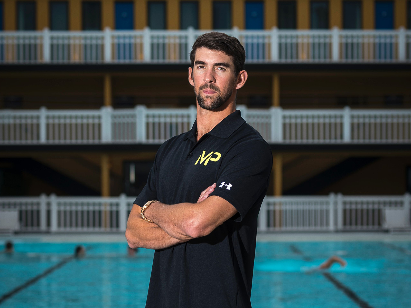 Michael Phelps Reveals What It's Really Like to Eat in the Olympic Village