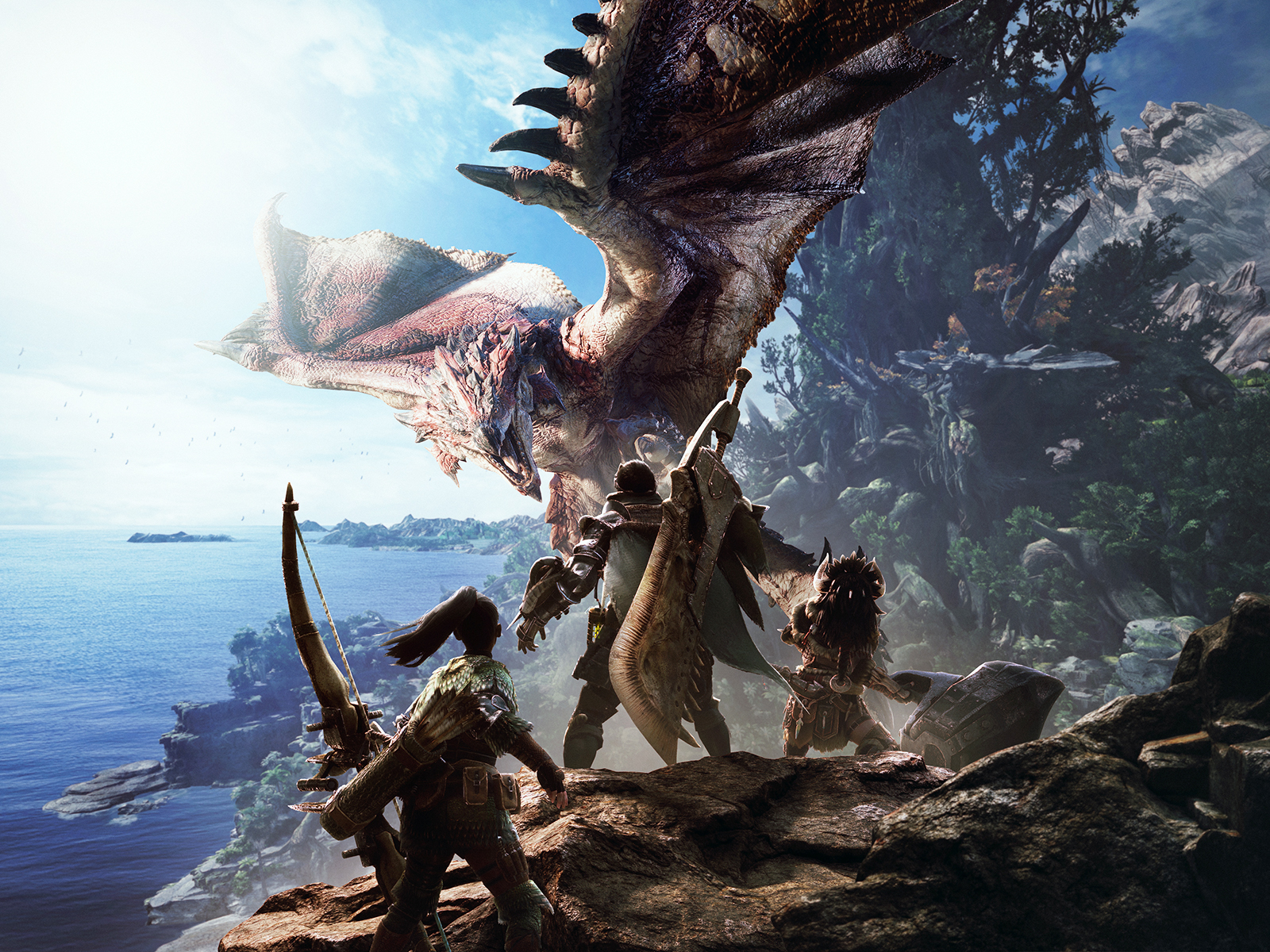 capcom video game monster hunter world