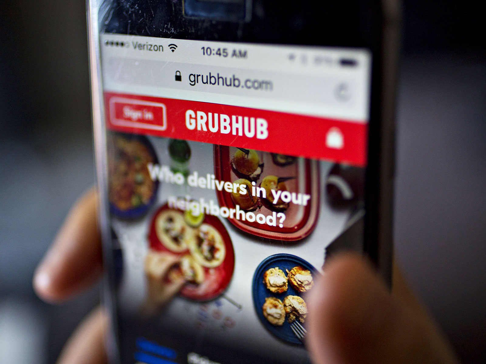 Grubhub Just Made It Easier to Split the Takeout Bill