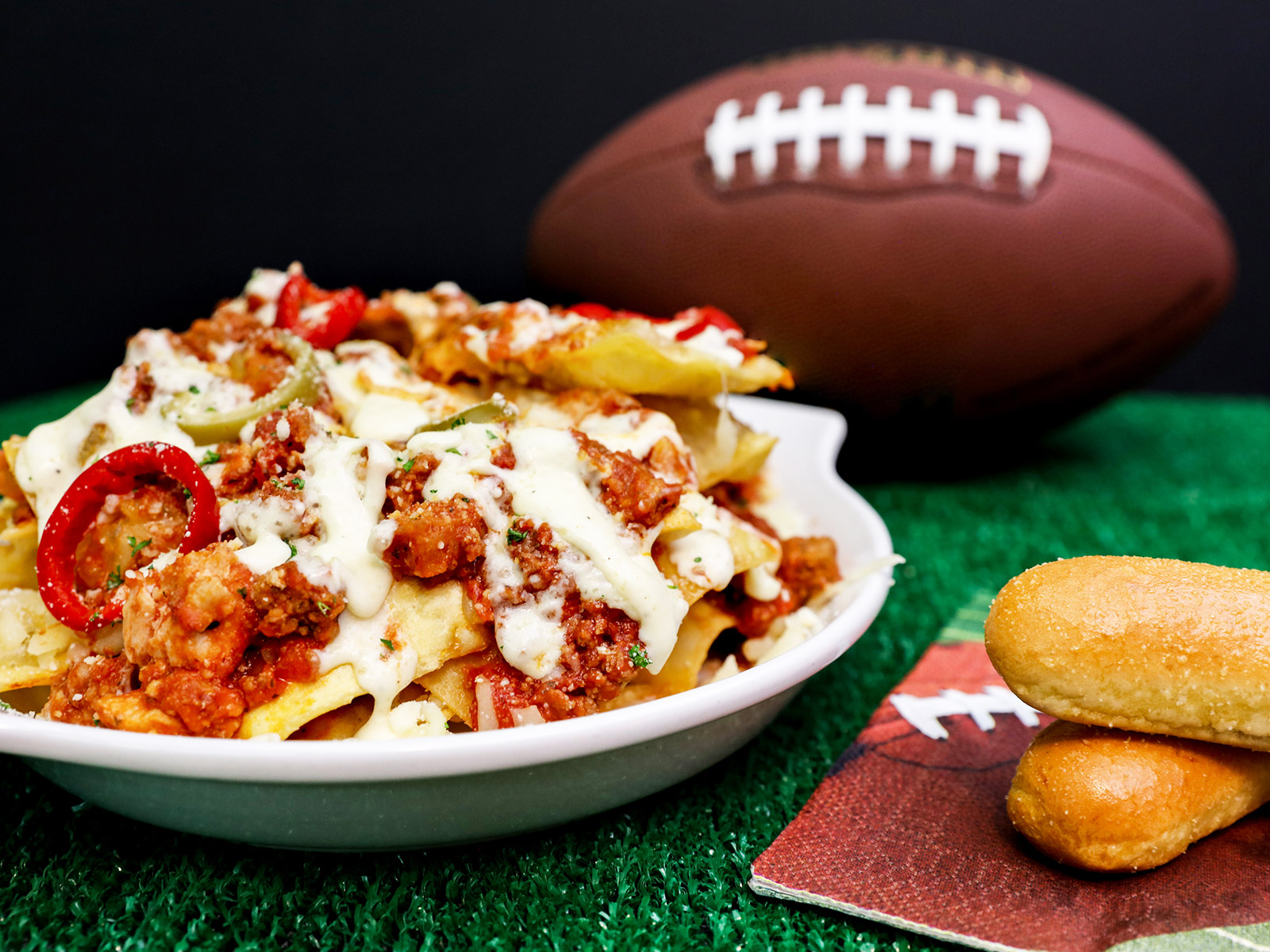 Olive Garden Puts Pasta Nachos on the Menu in Time for the Super Bowl