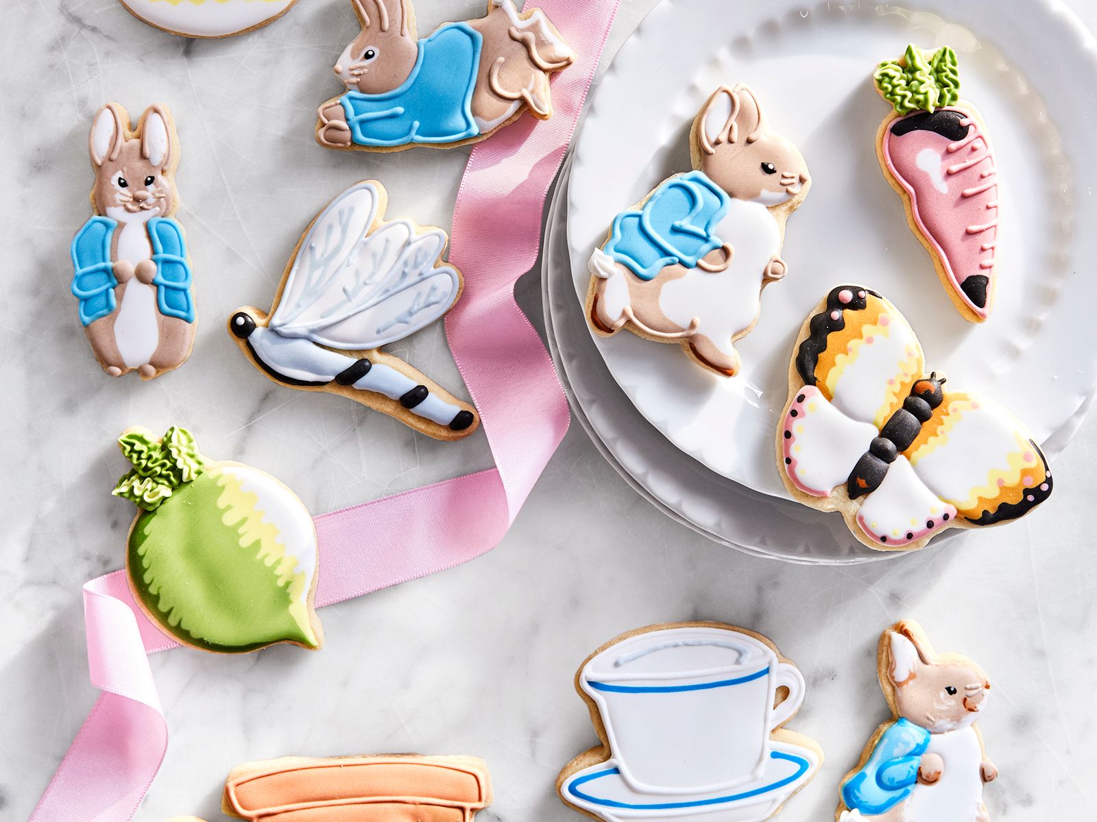 decorated cookies peter rabbit