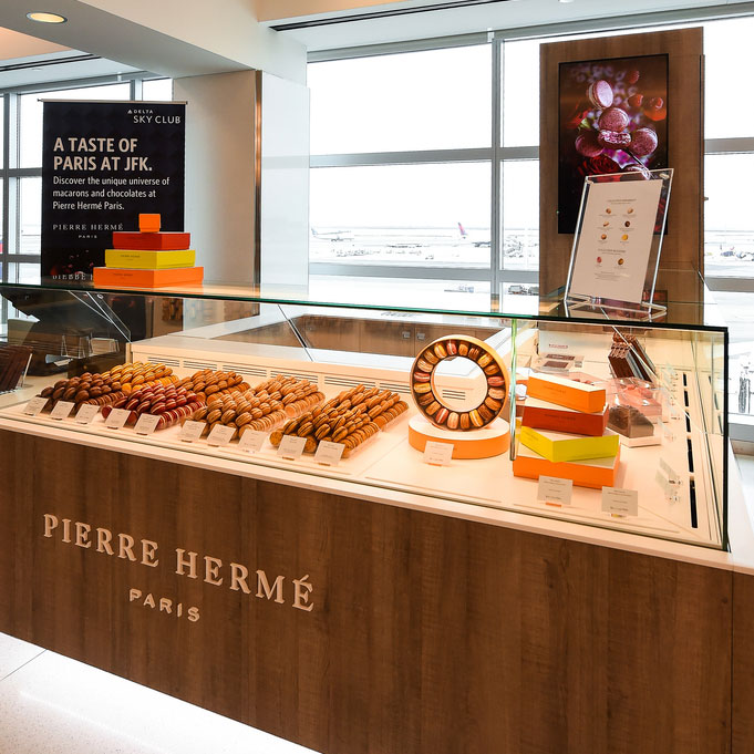 Pierre Herme Counter at JFK