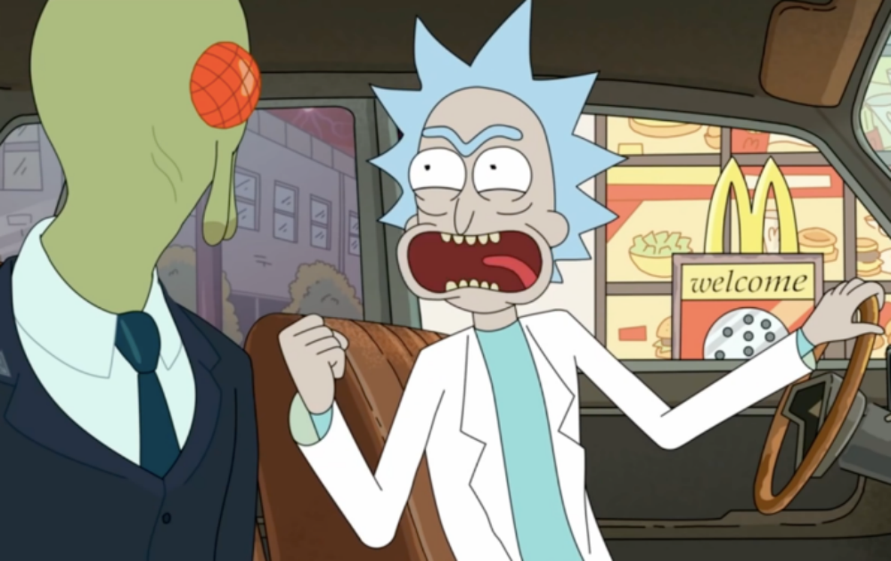 Rick and Morty McDonalds Szechuan sauce