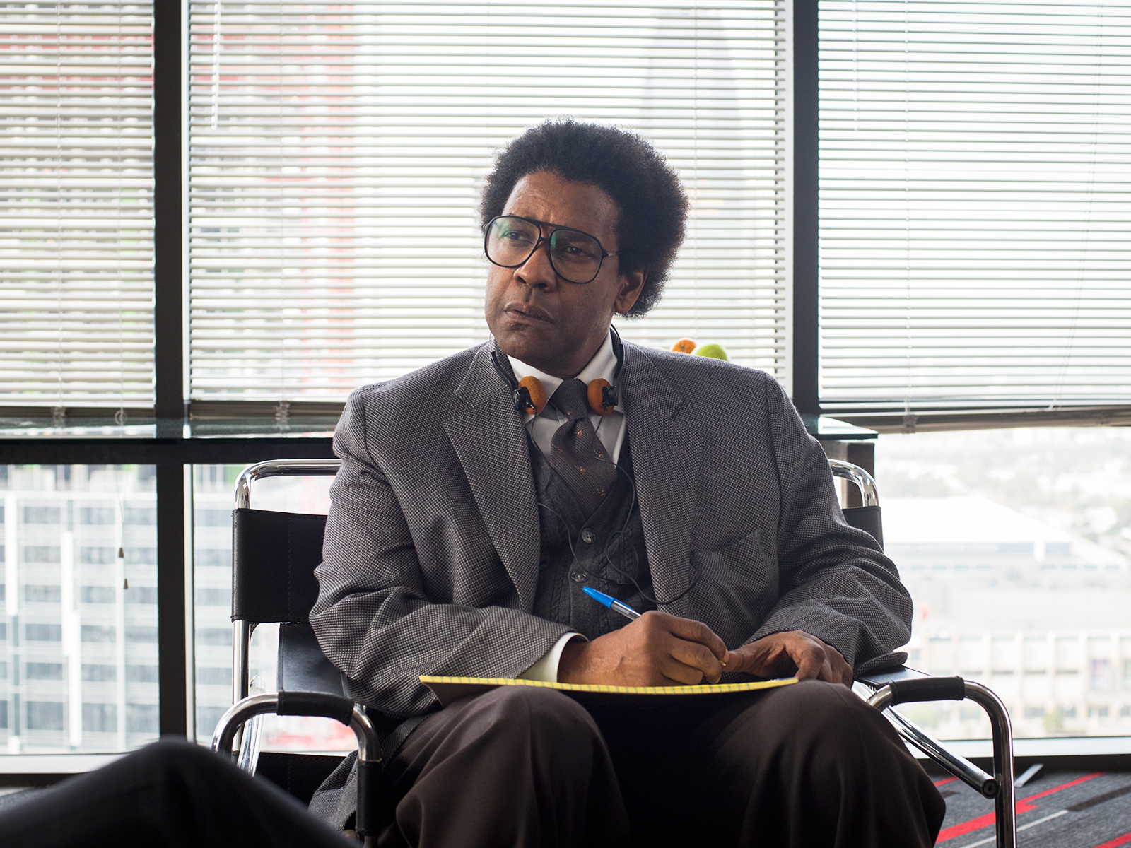 denzel washington in roman j israel esq movie by sony pictures