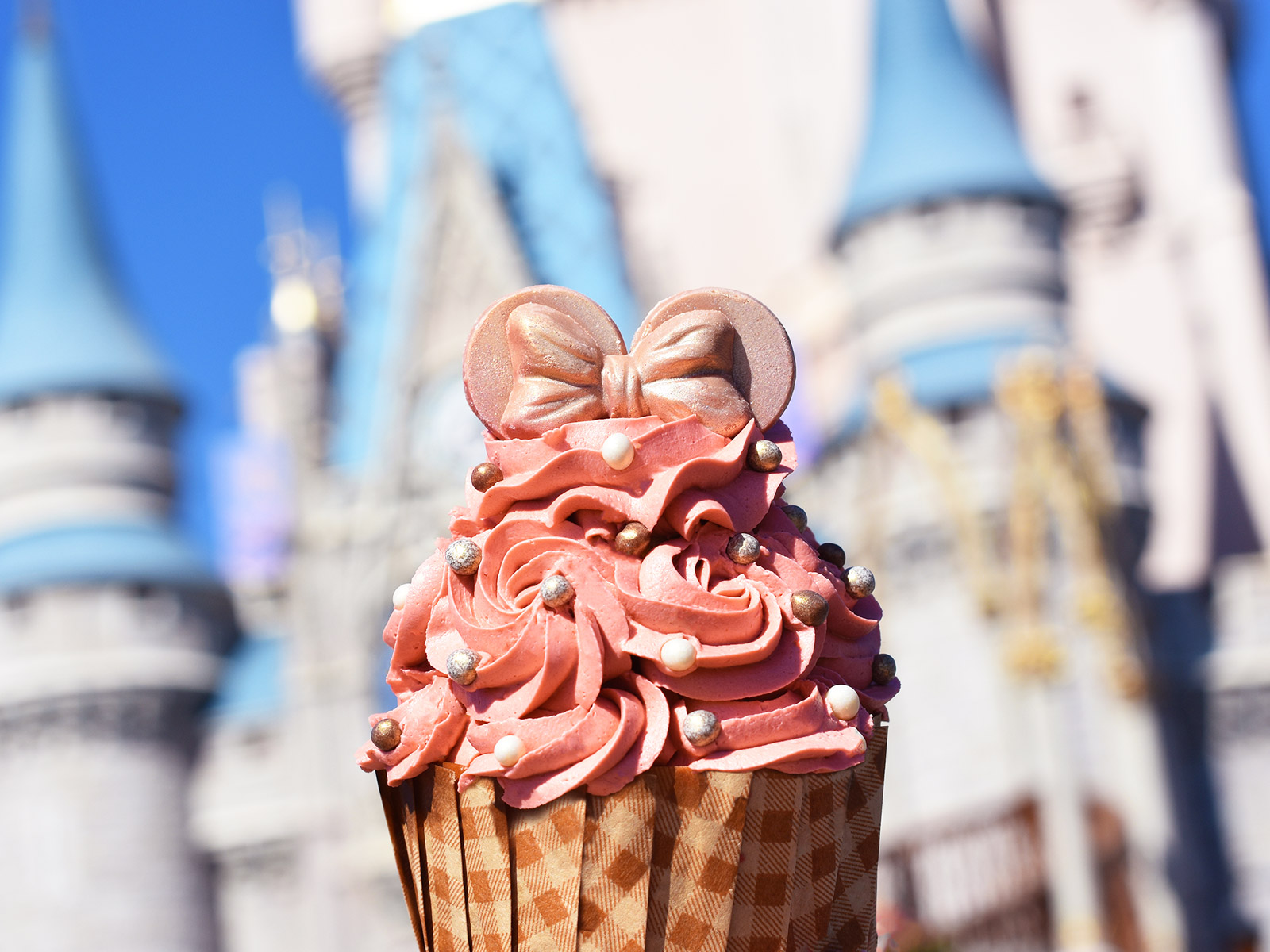 Disney World's Rose Gold Treats Look (Almost) Too Fancy To Eat