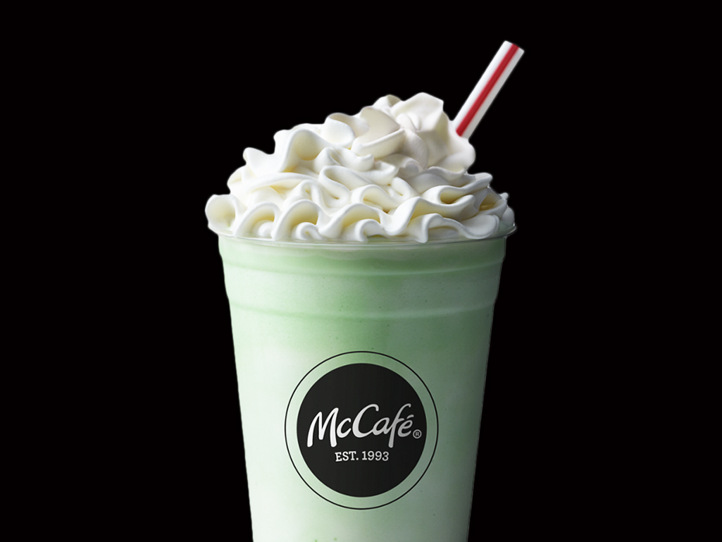 McDonald's Shamrock Shakes Are Back on the Menu