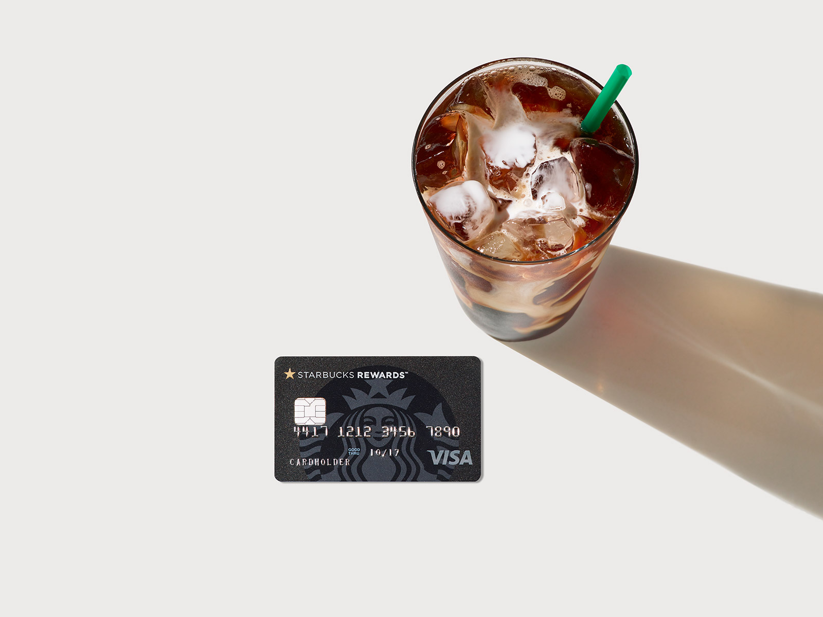 The New Starbucks Visa Card