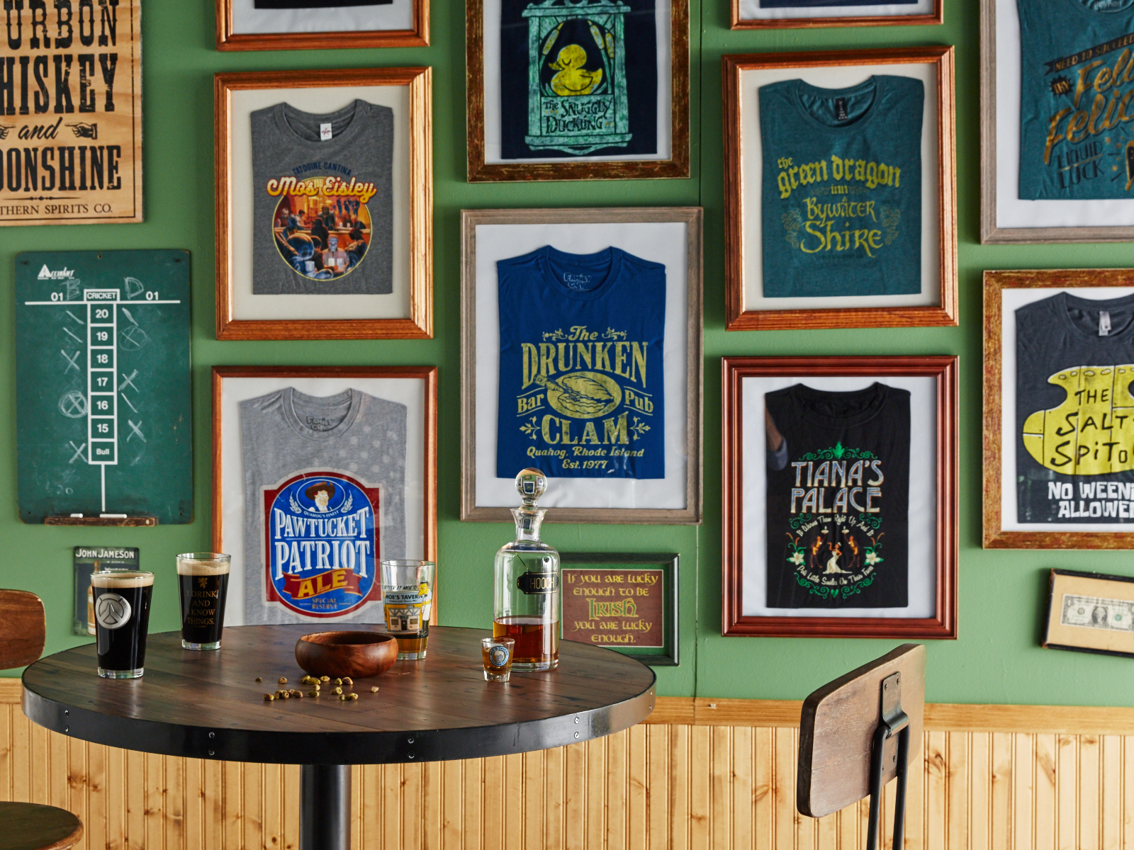 Fictional Bar T-Shirts From 'Harry Potter,' 'Star Wars,' and 'Grey's Anatomy' Support a Very Real Cause