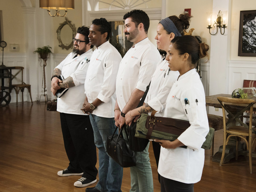 The Top 5 Chefs
