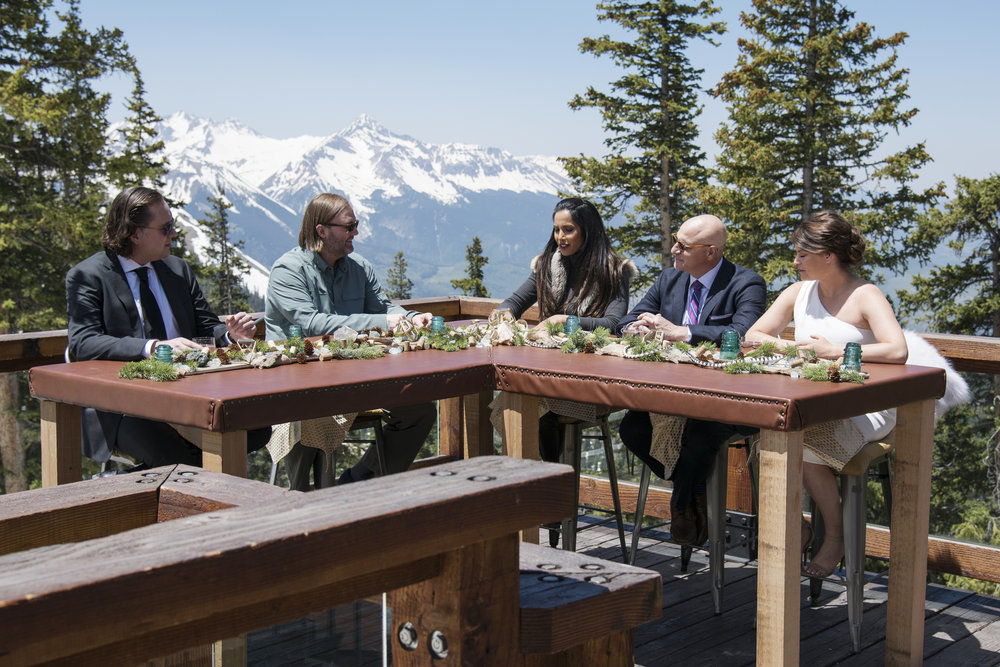 Top Chef judges in episode 11