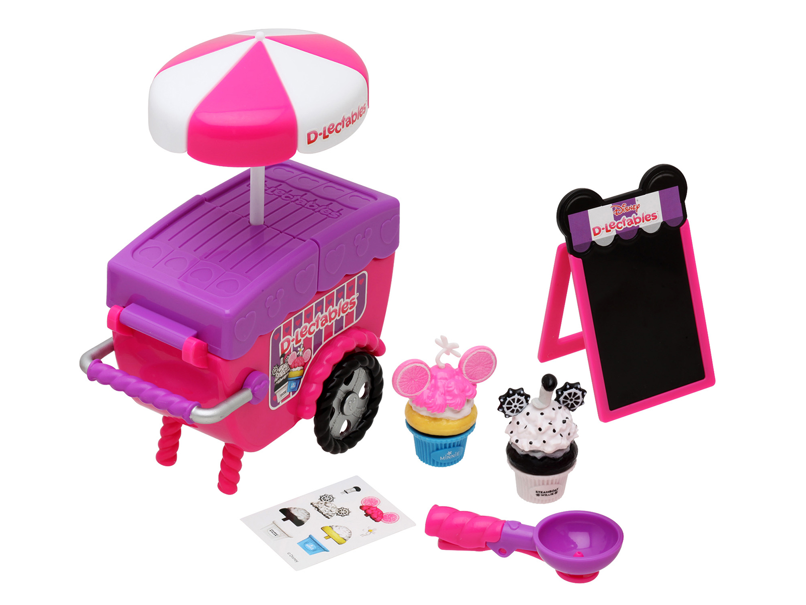 d-lectables disney cupcake cart