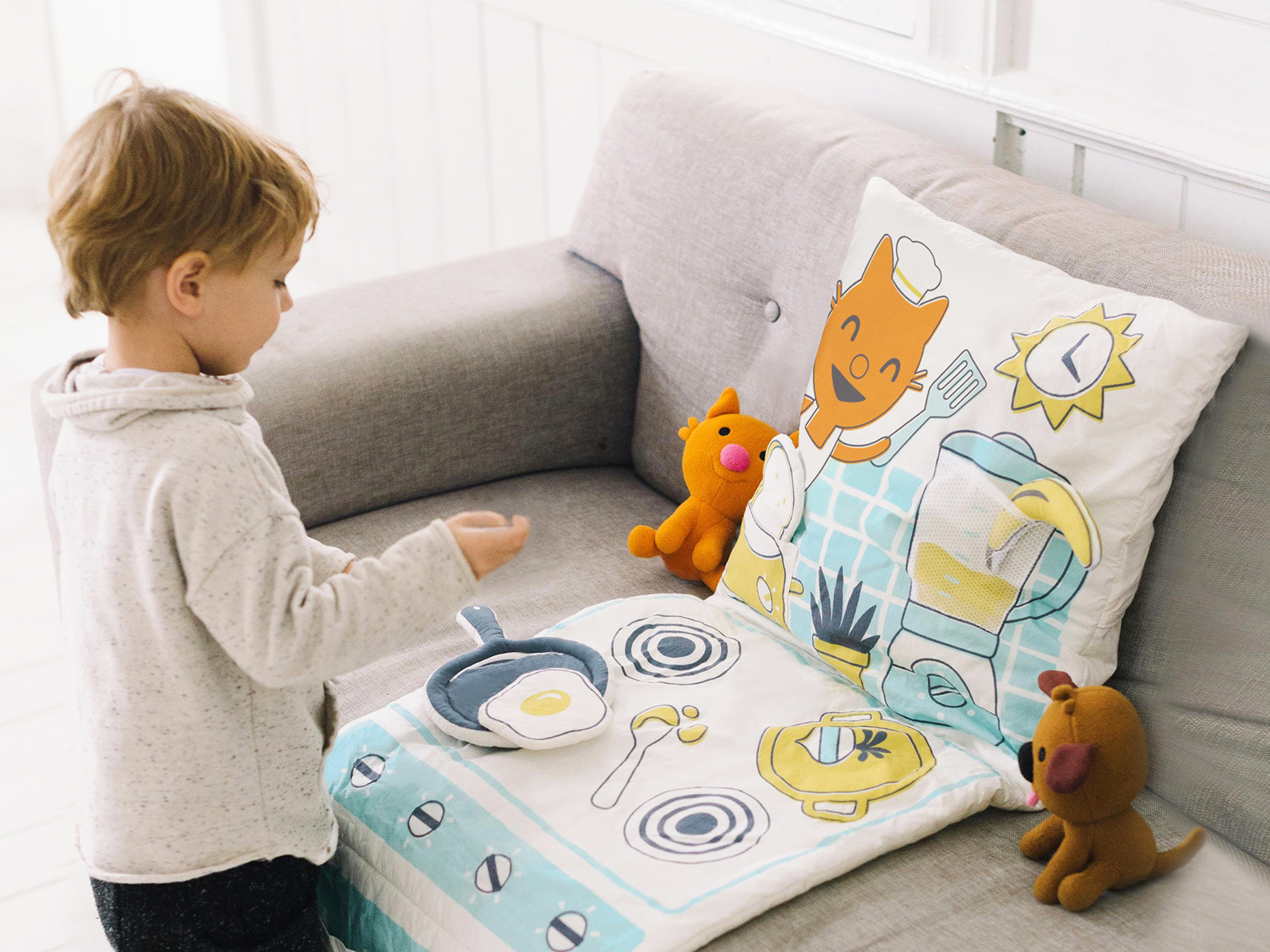 Pillow-toy with your own hands. Master Class