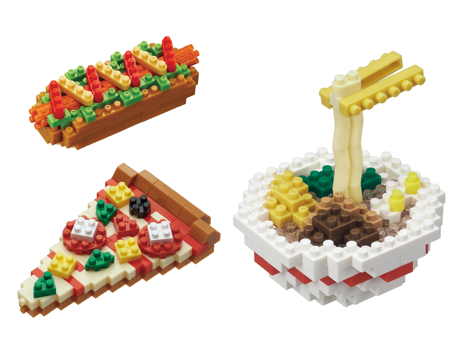 cute food legos