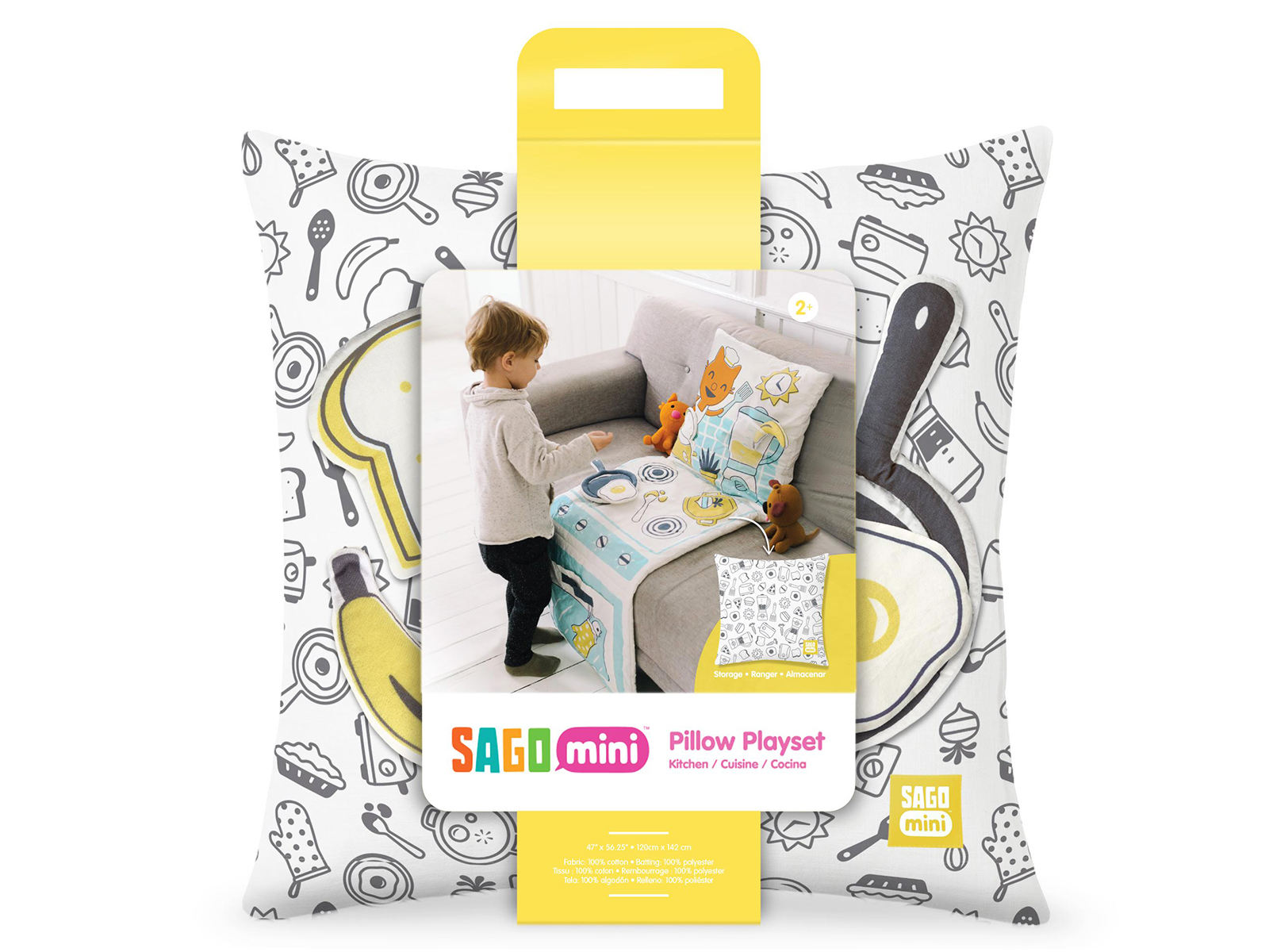 sago mini pillow kitchen set