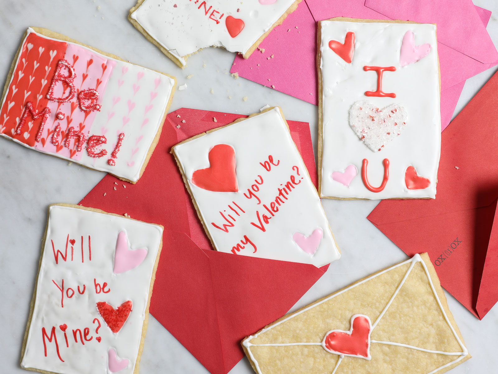 Valentine's Day Cookie Cards