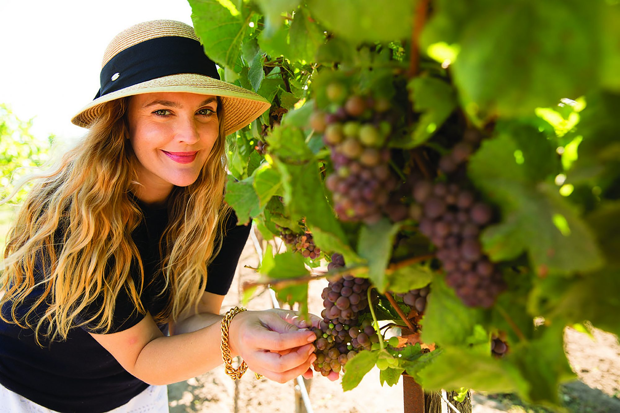 What Drew Barrymore Loves Most About Wine