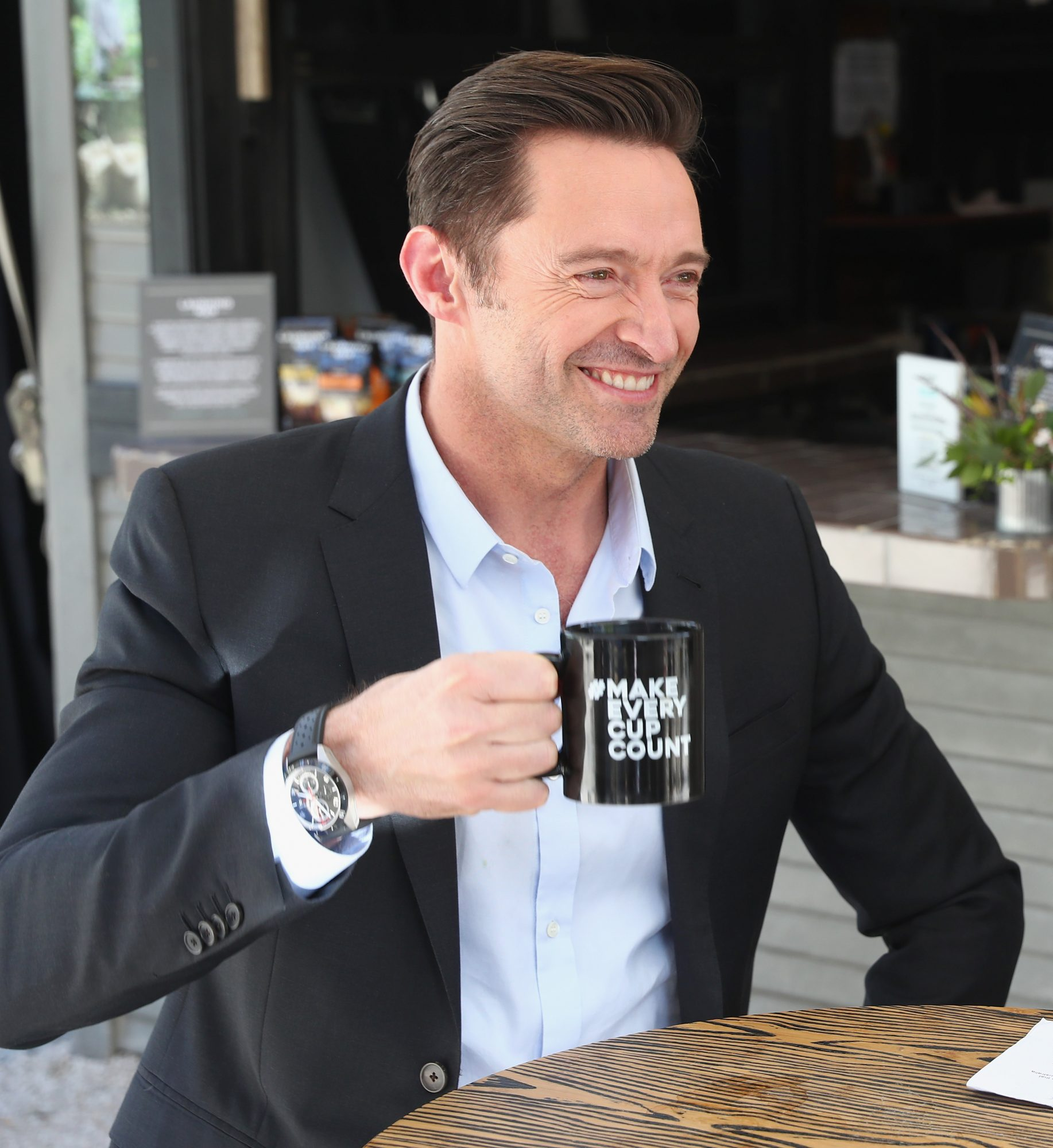 This Is How Hugh Jackman Takes His Coffee
