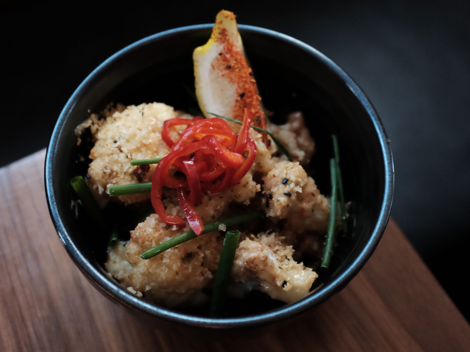 Asian Fried Cauliflower
