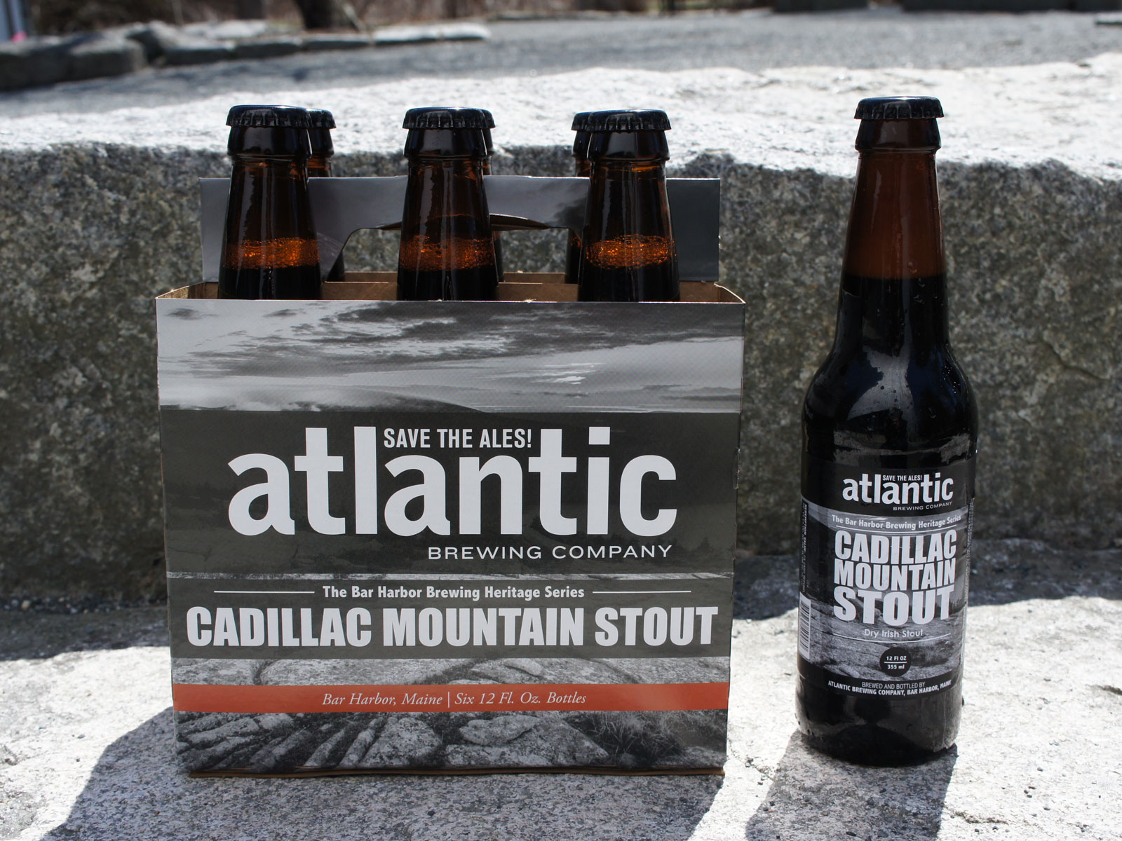 Atlantic Brewing Company Cadillac Mountain Stout