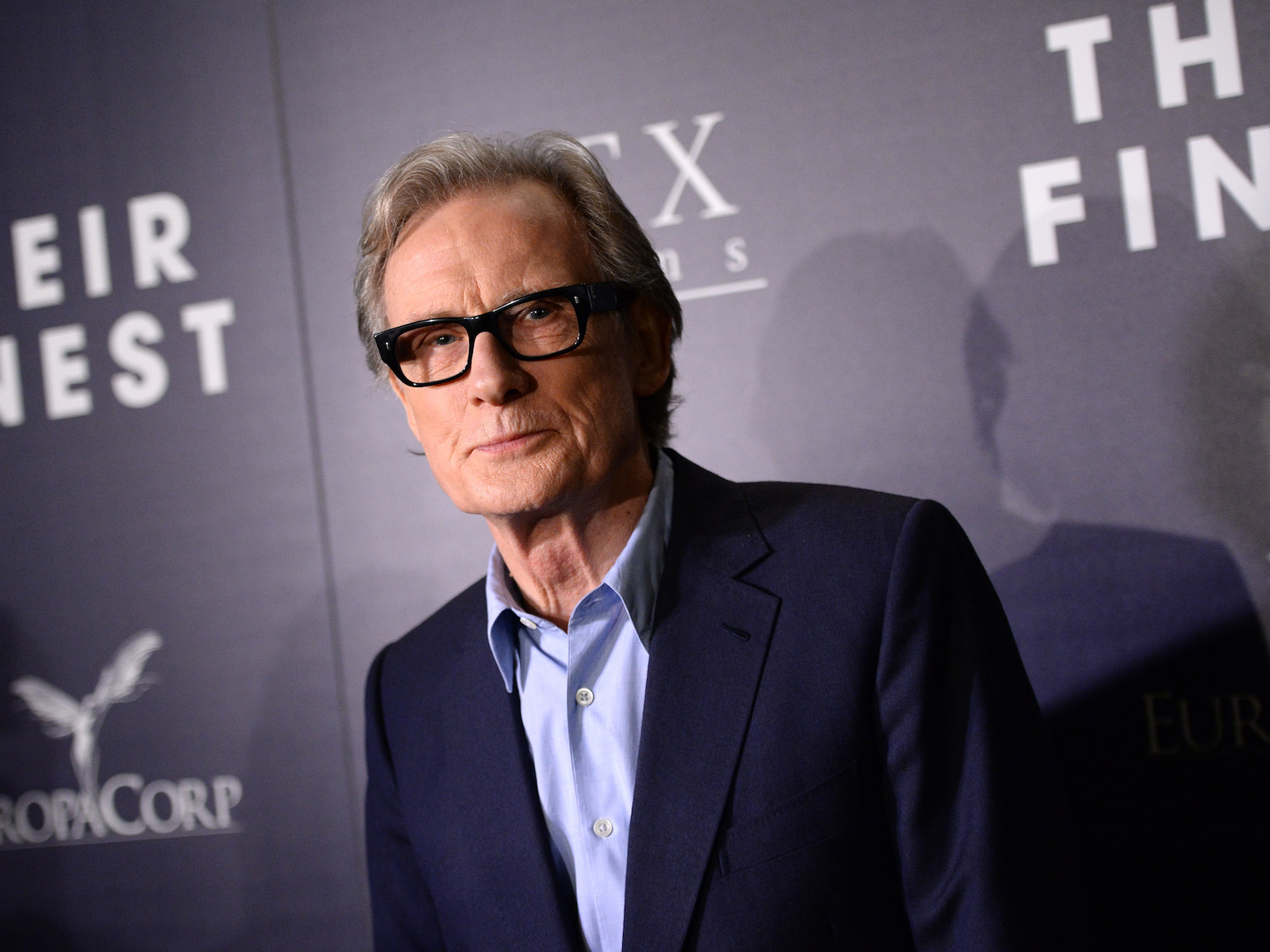 Bill Nighy restaurant movie