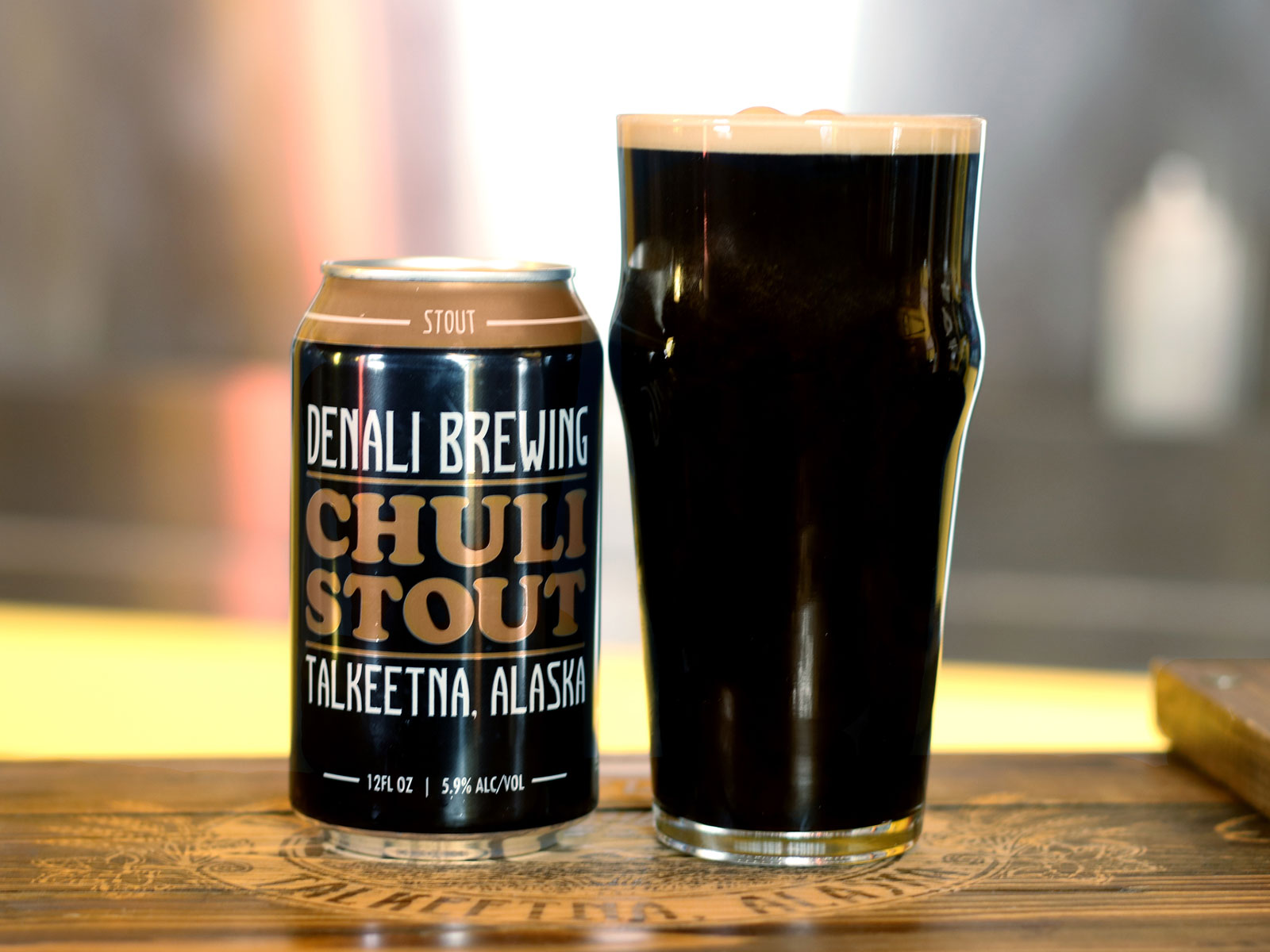 Denali Brewing Chuli Stout