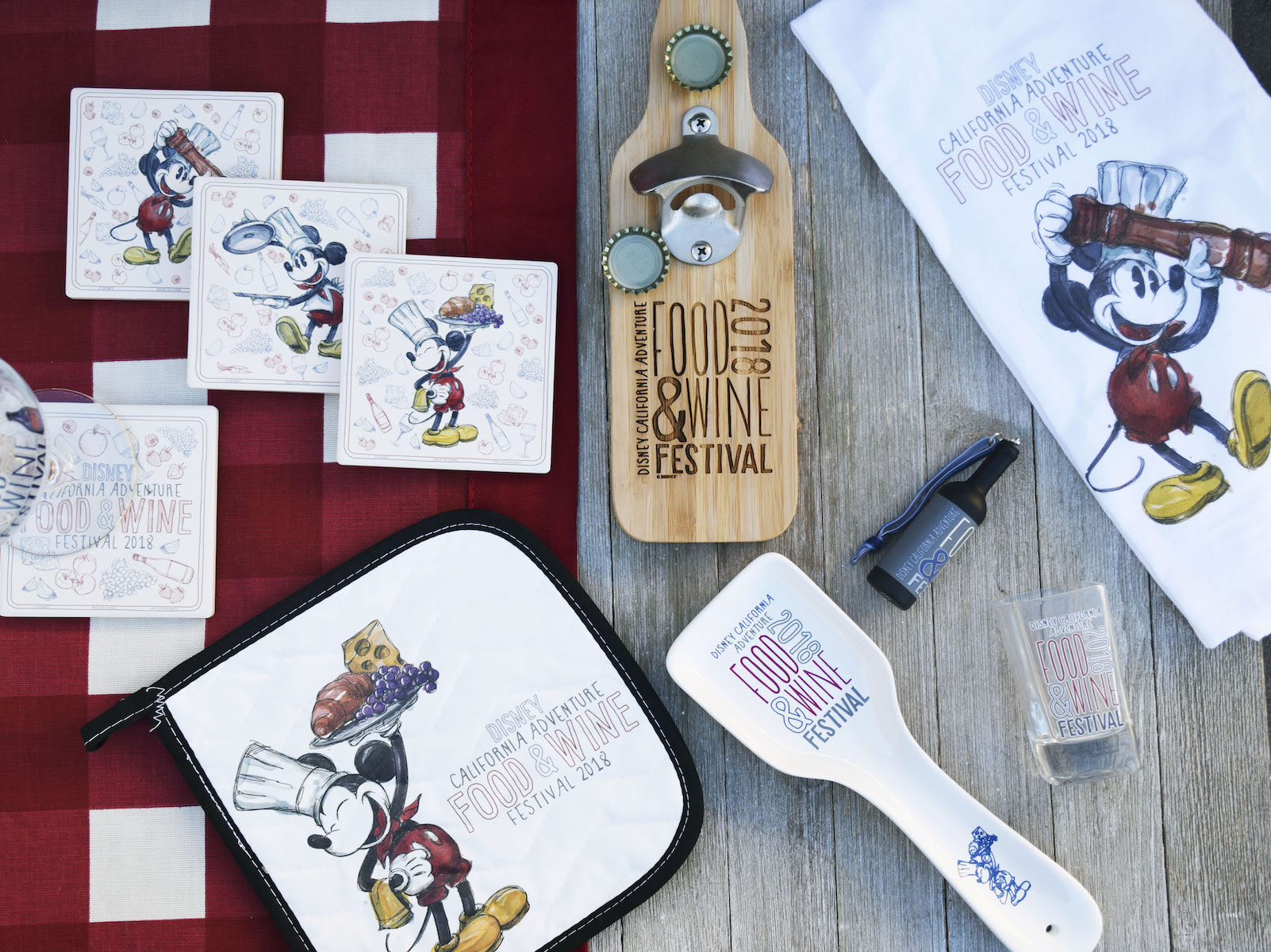 Disney Made Chef Mickey Kitchen Accessories for This Year's California Adventure Food Festival