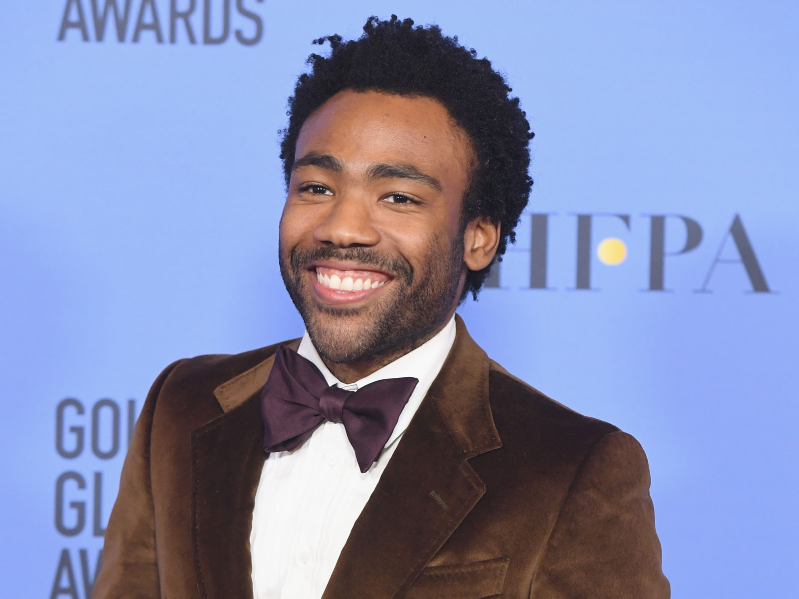 Donald Glover Met the Girl Scout Who Went Viral for Rewriting 'Redbone' About Cookies