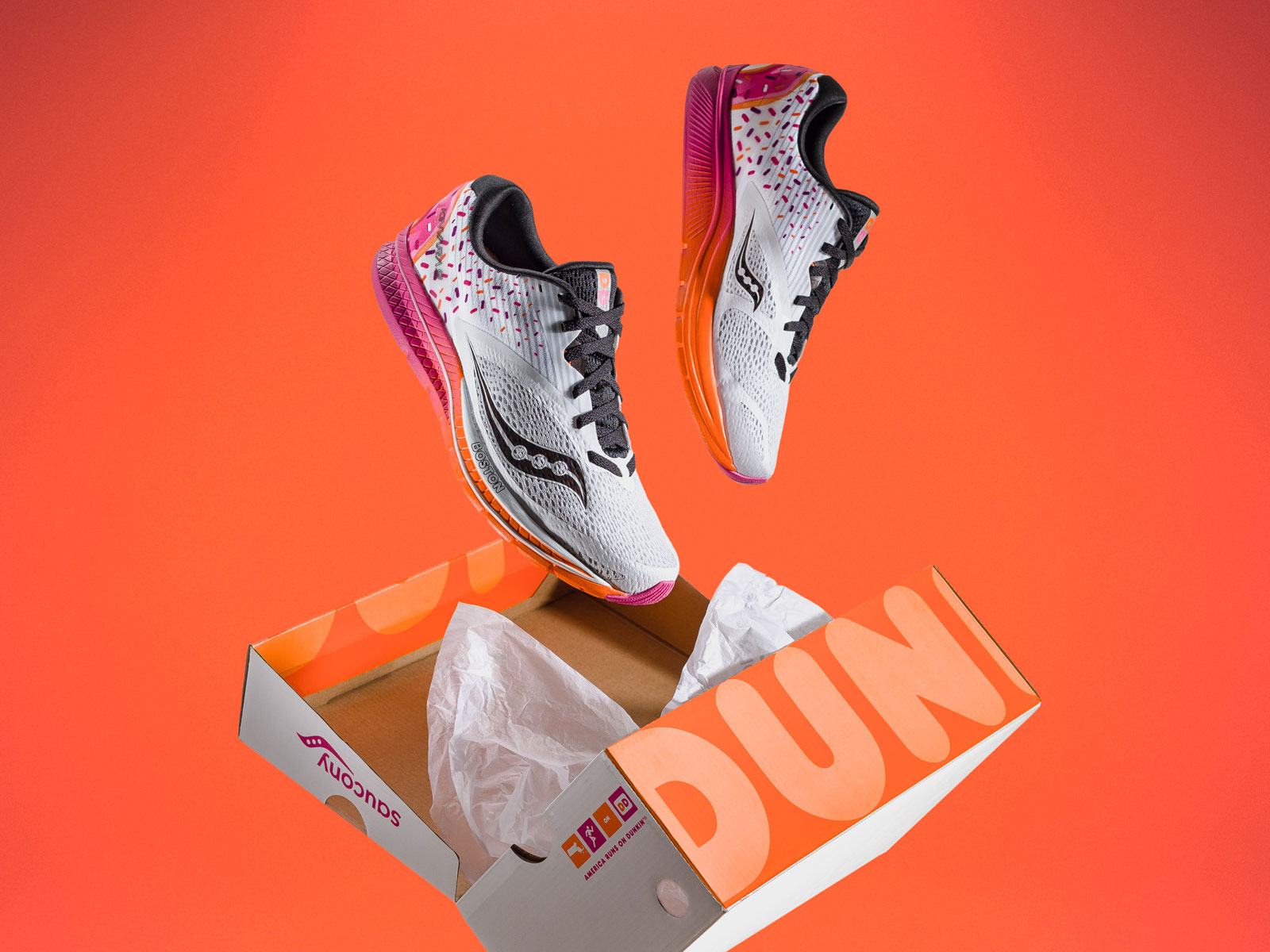 Dunkin' Donuts Saucony Running Shoes