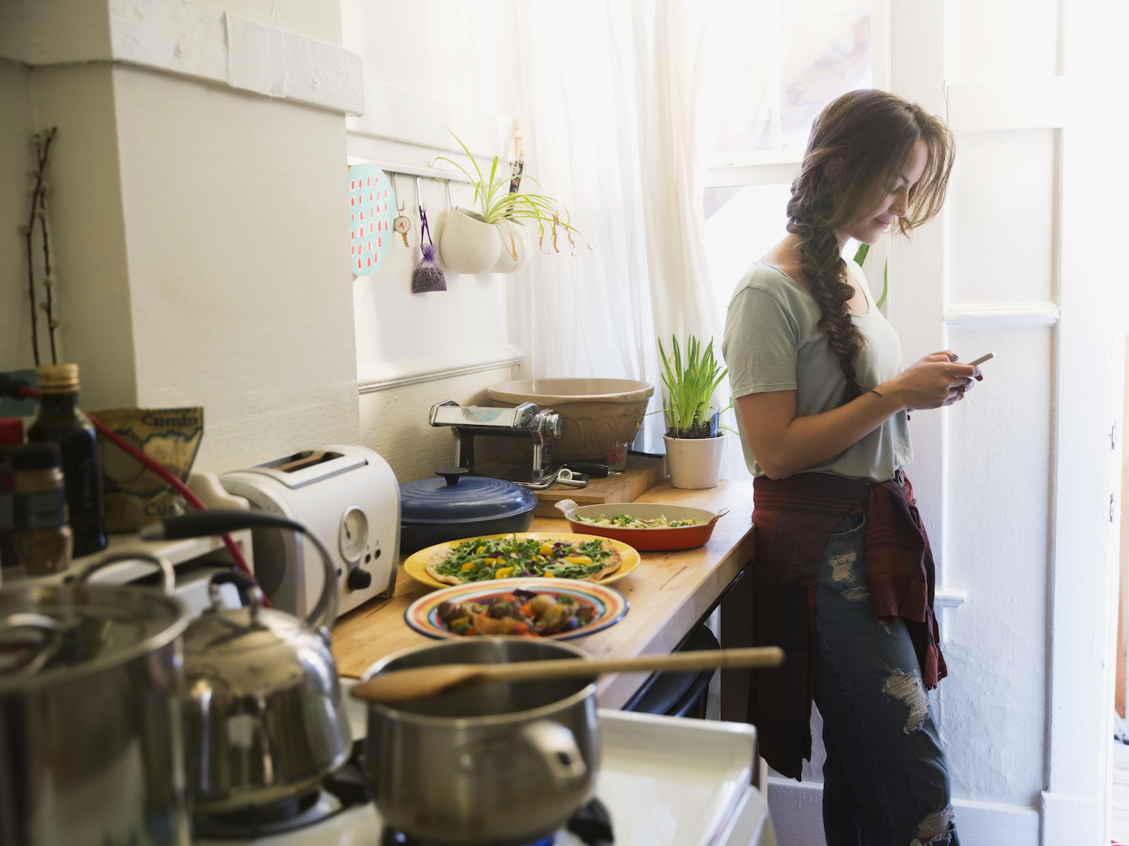 College Student Creates Home-Cooked Meal App After Tiring ...