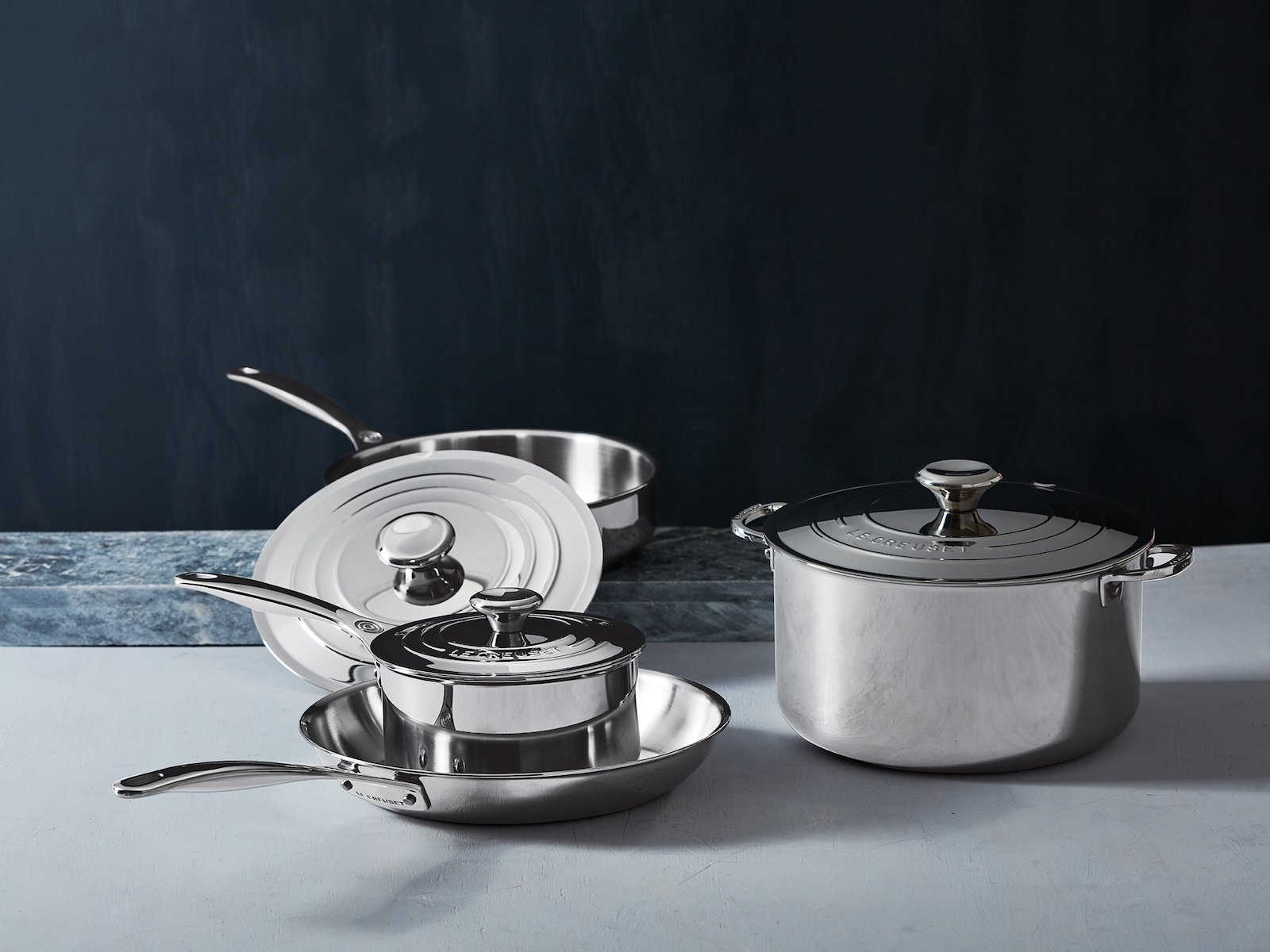 Le Creuset Launches Stainless Steel Cookware Set
