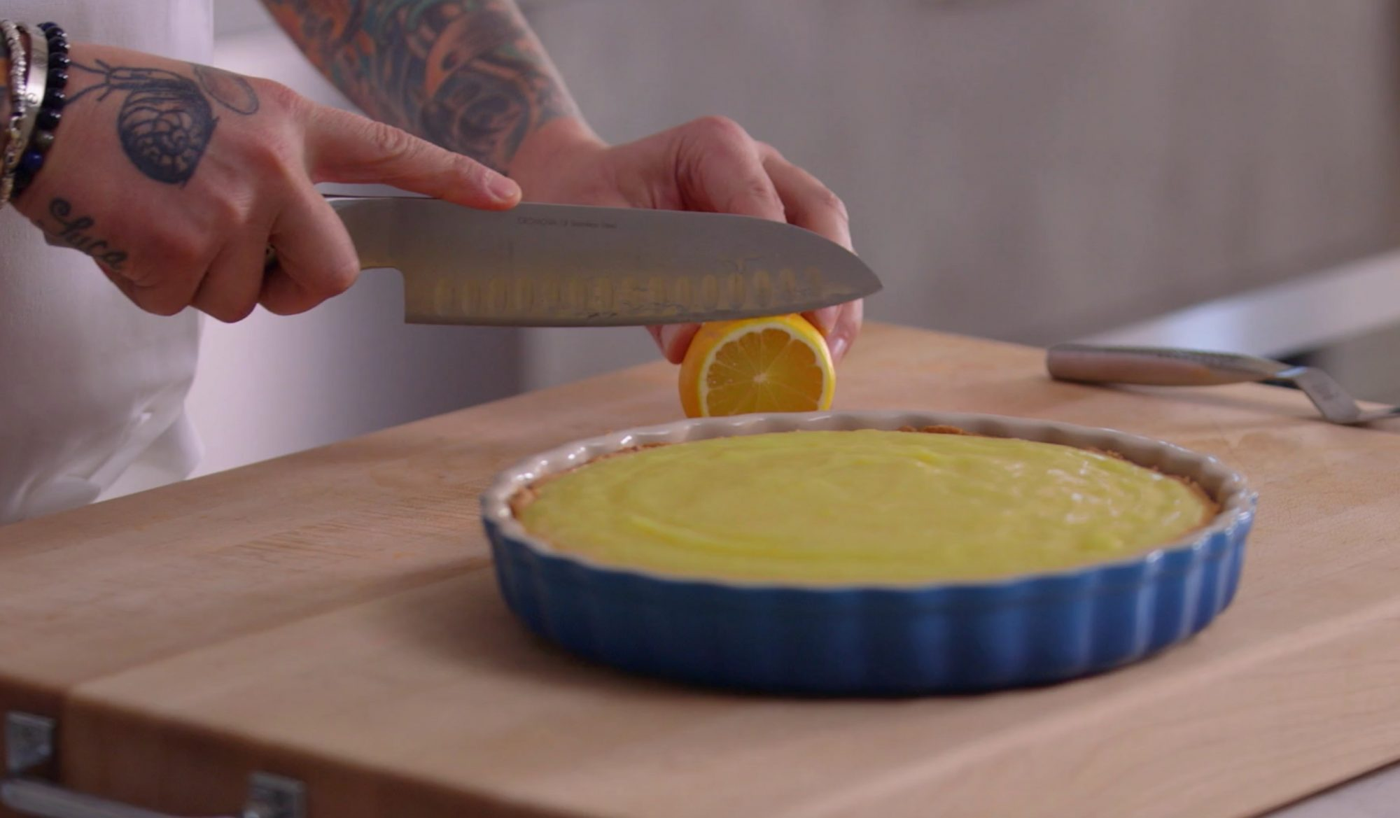 How to Make a Meyer Lemon Tart