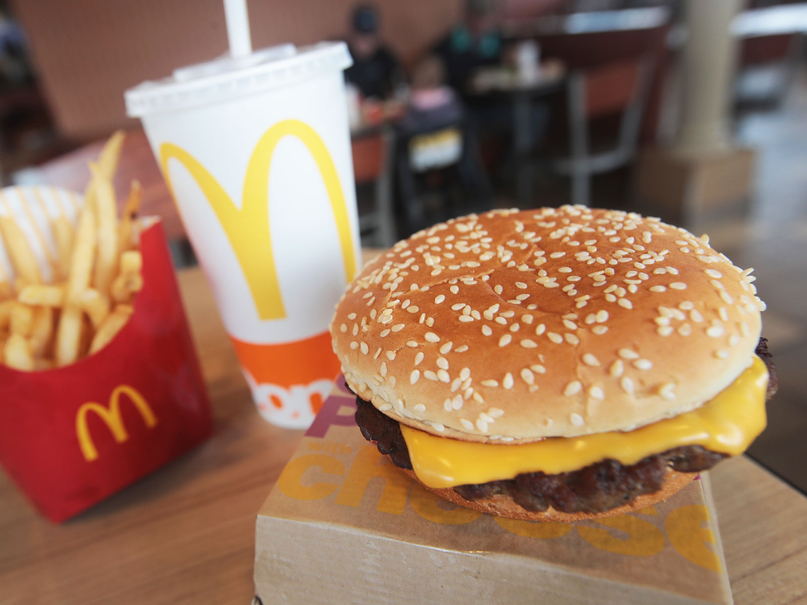 Is McDonald's New Burger With Fresh Beef Actually Any Healthier?