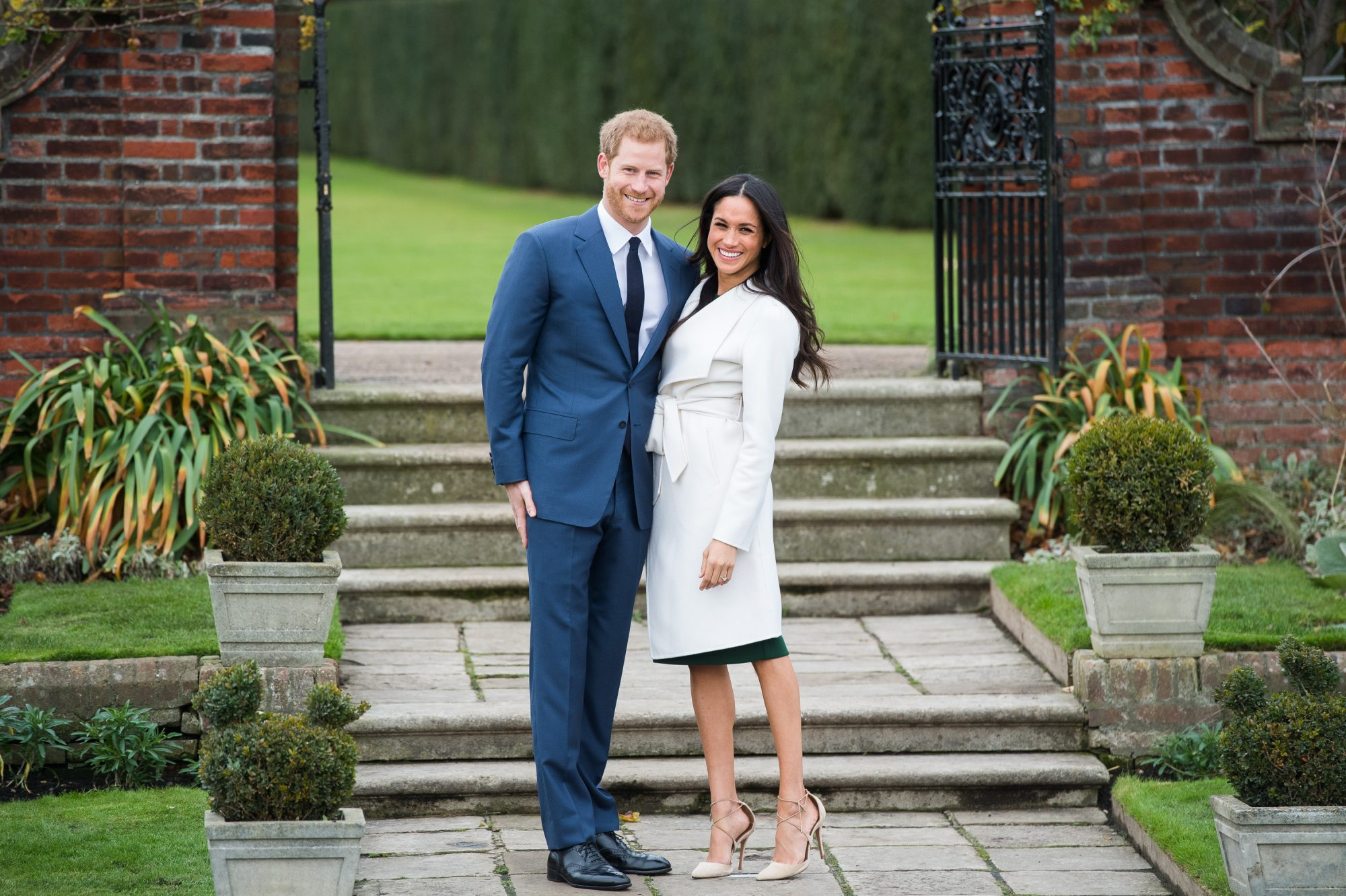prince harry megan markle engagement coat