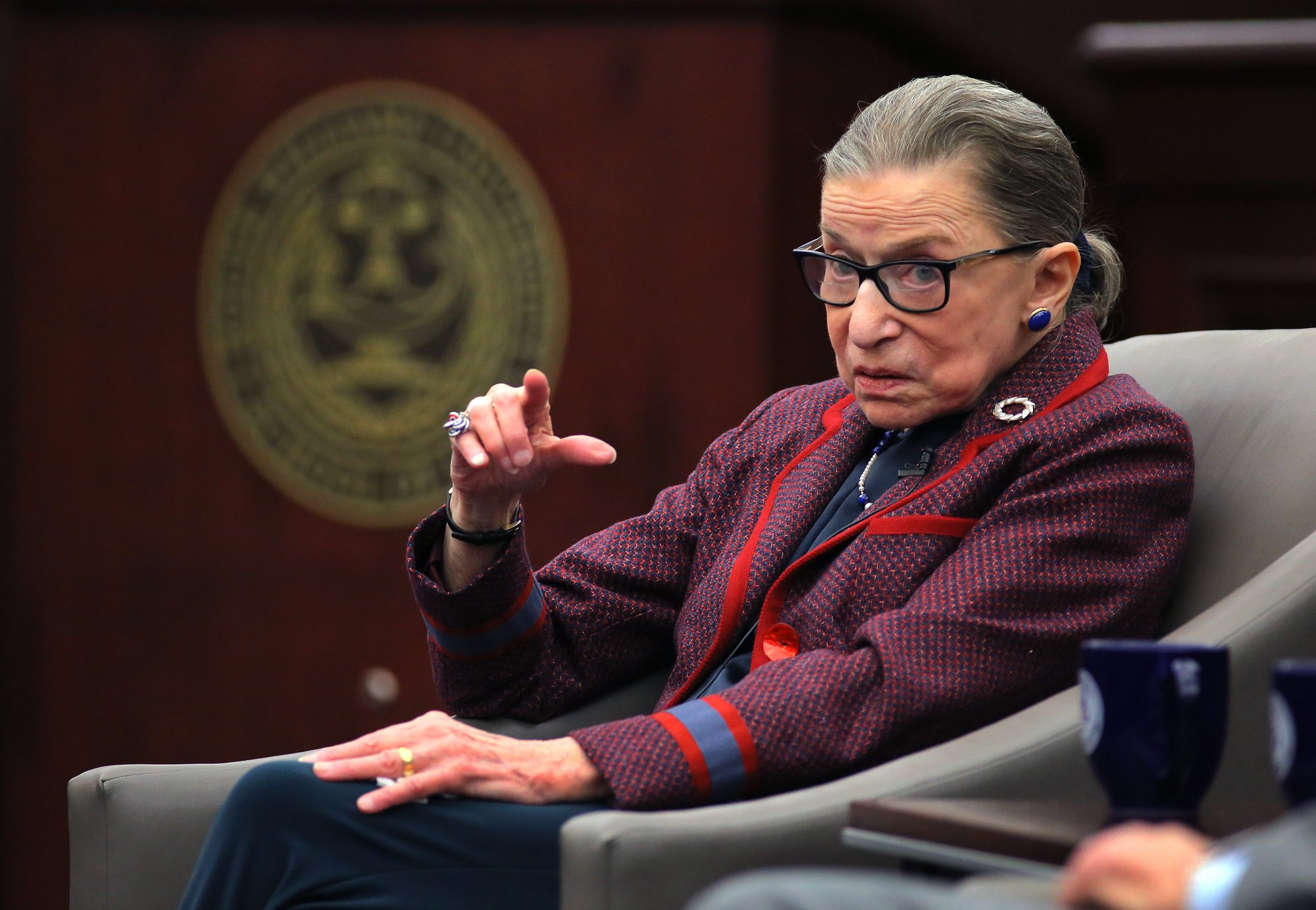 Ruth Bader Ginsburg Weighs in on Whether a Hot Dog Is a Sandwich