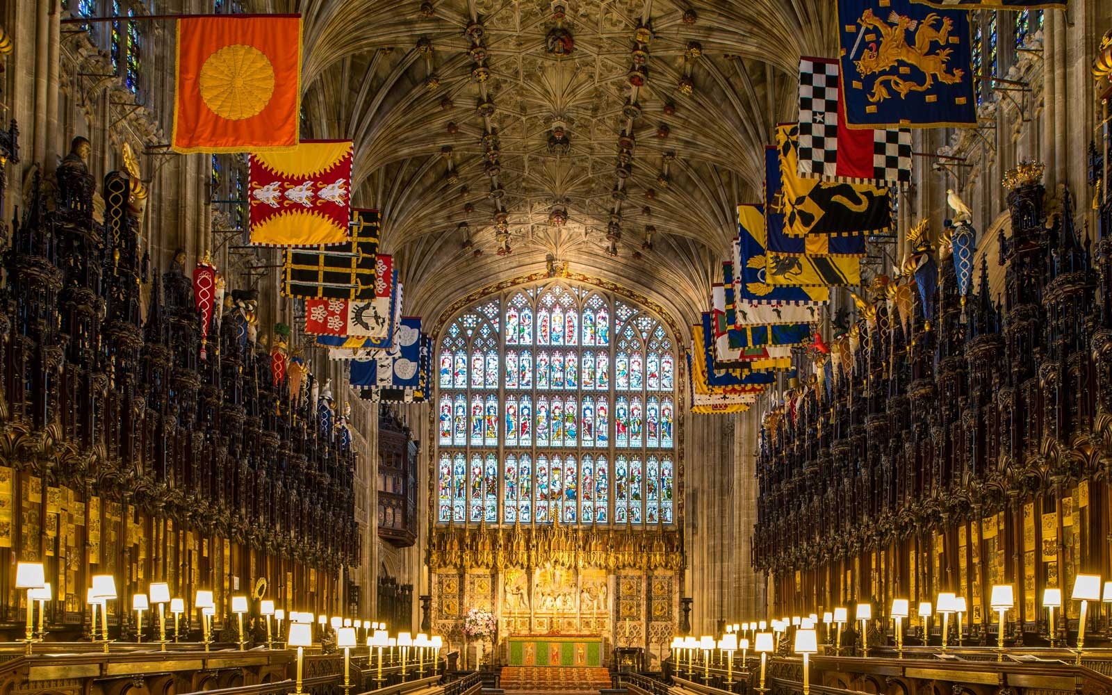 Inside St. George's Chapel, Where Prince Harry and Meghan Markle Will Get Married