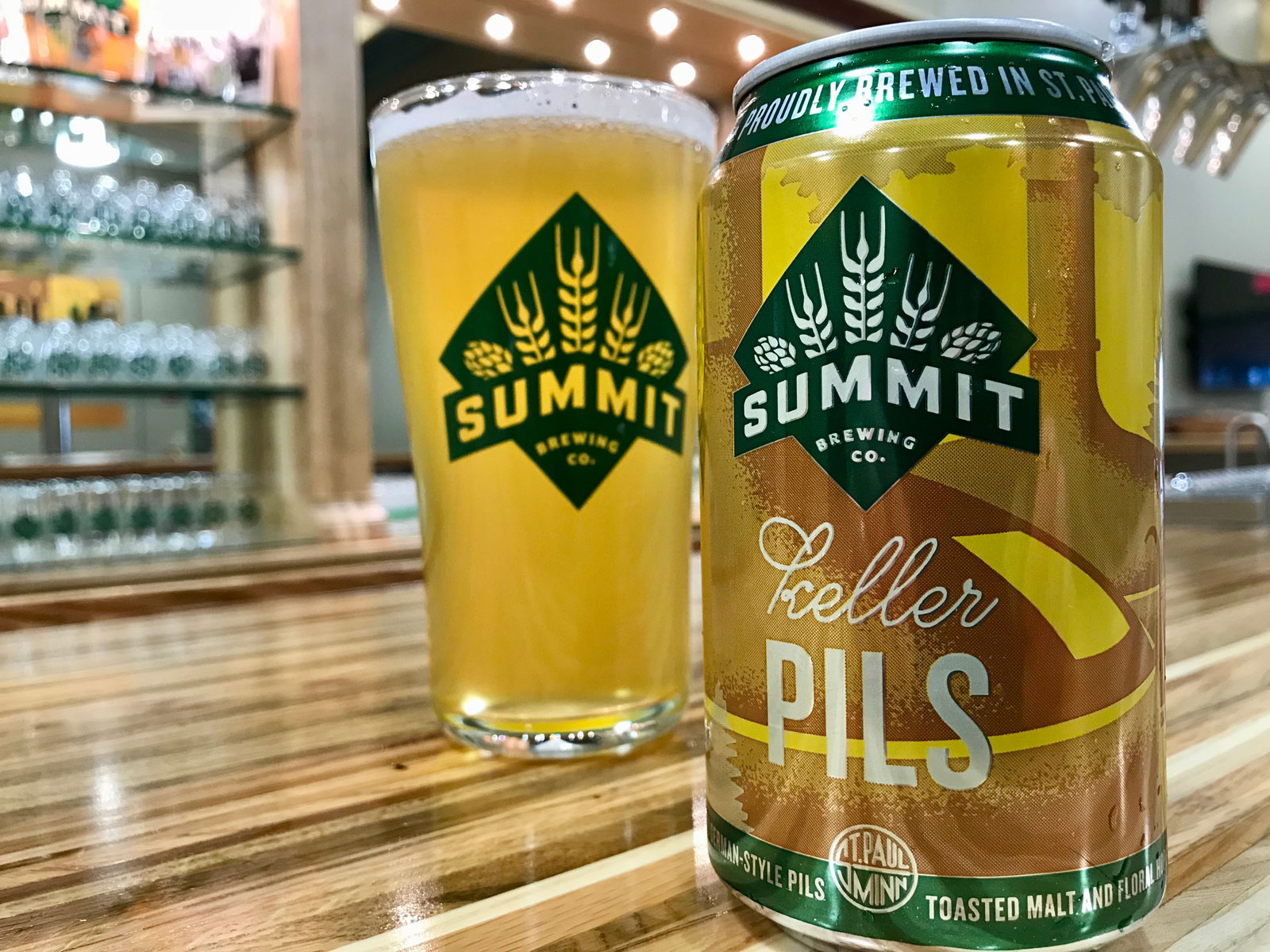 Keller Pils by Summit Brewing Co.