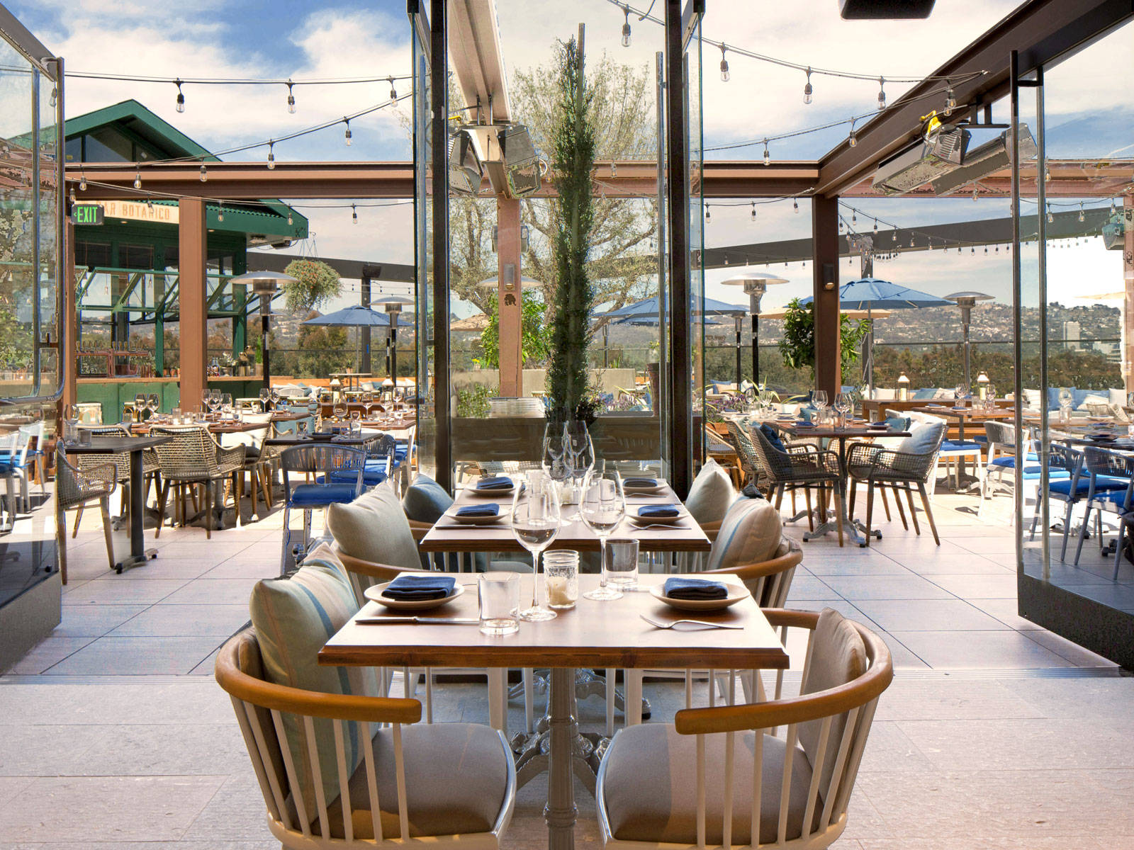 Eataly L A S New Rooftop Restaurant Terra Opens This