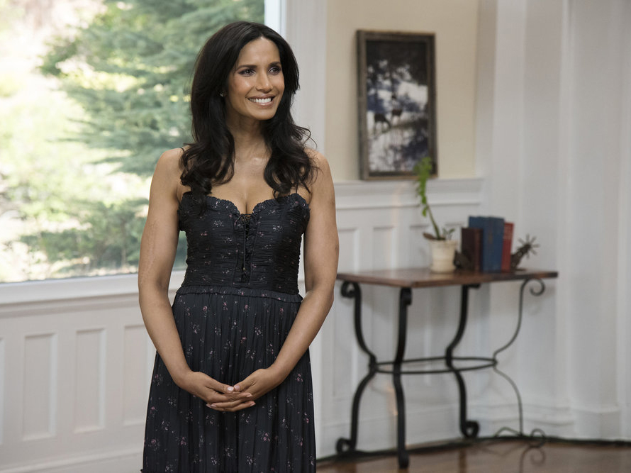 Padma Lakshmi at the Stanley Hotel on Top Chef