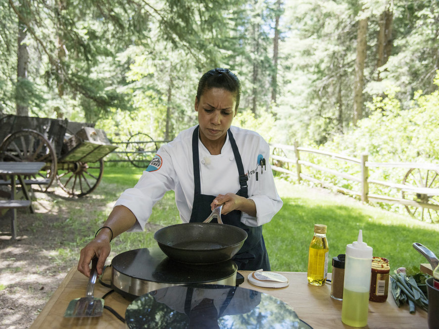 Adrienne on Top Chef