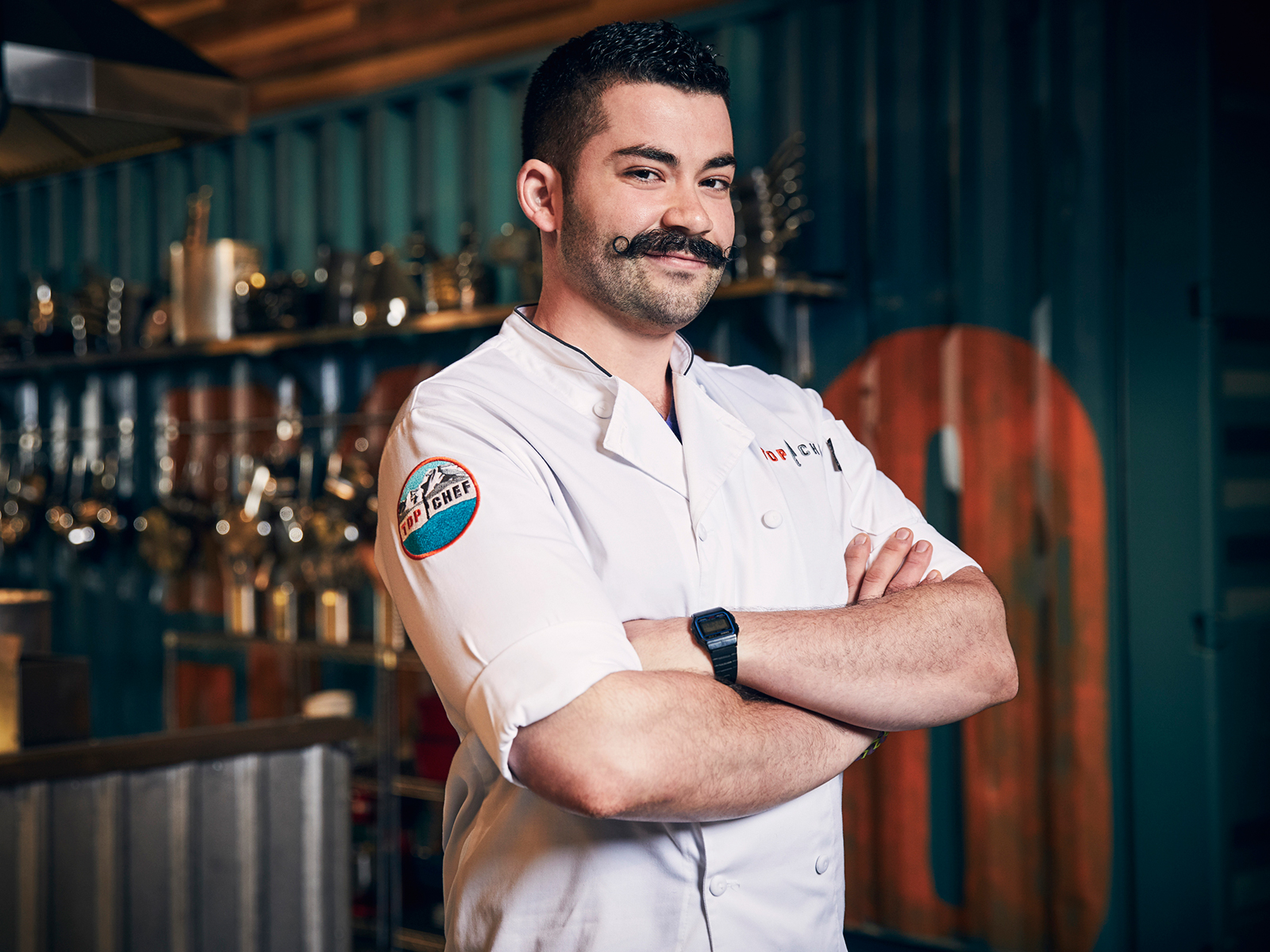 'Top Chef's' Joe Sasto on Focused Cooking and Mustache Maintenance