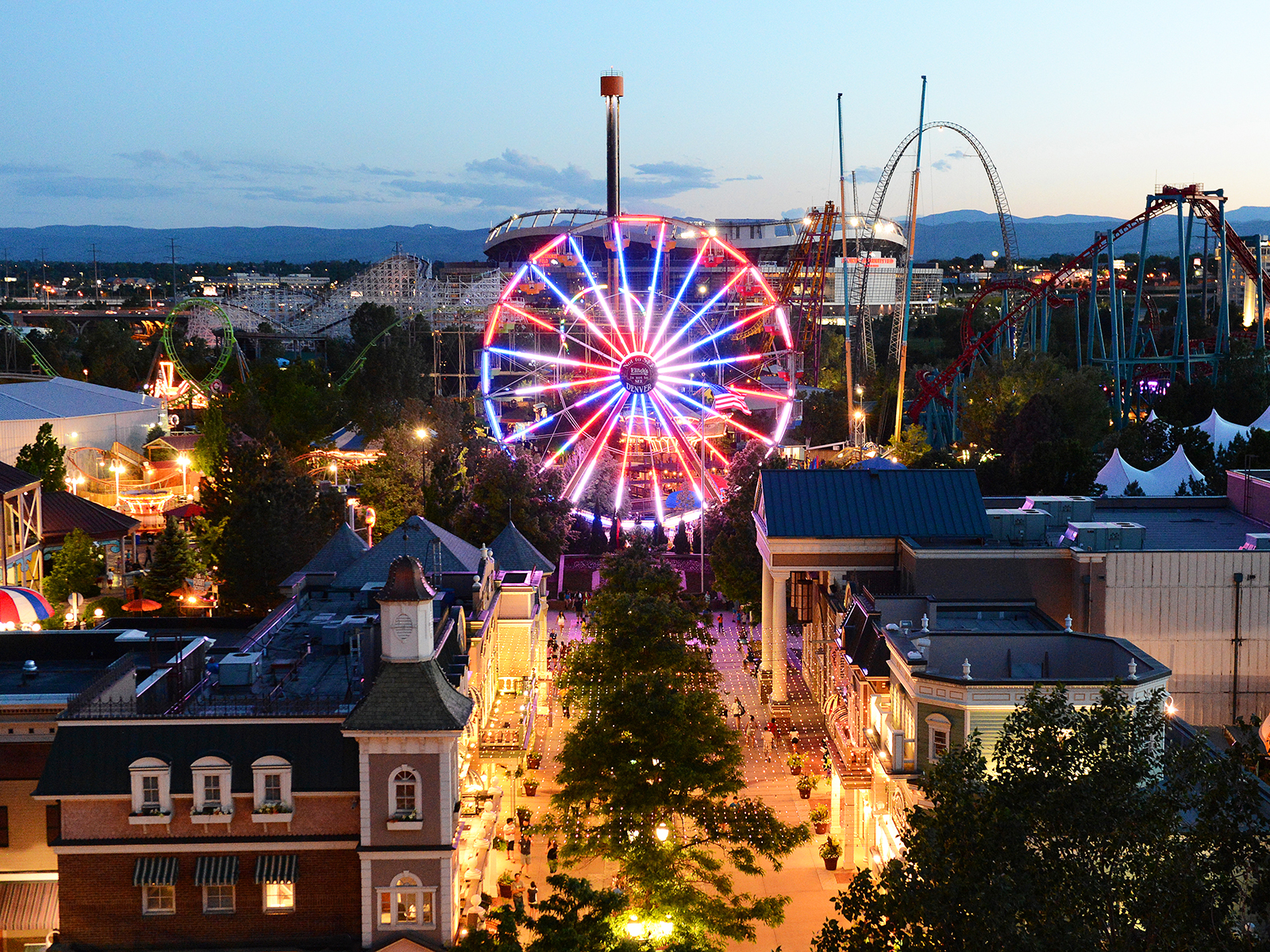 elitch gardens amusement park