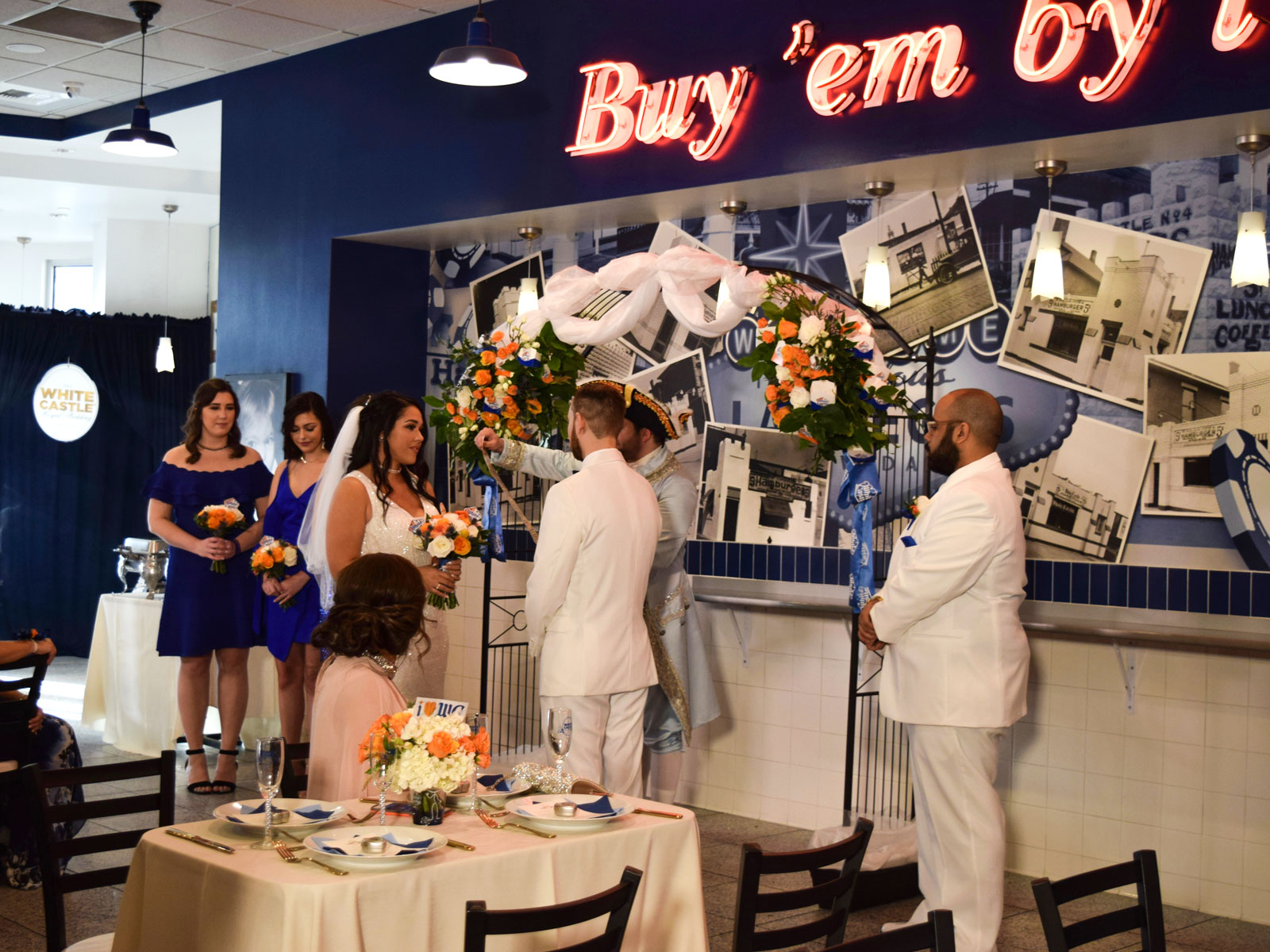 We Attended the First-Ever White Castle Royal Wedding in Las Vegas