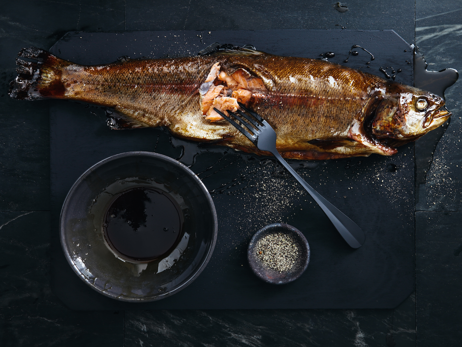 Butchering whole fish