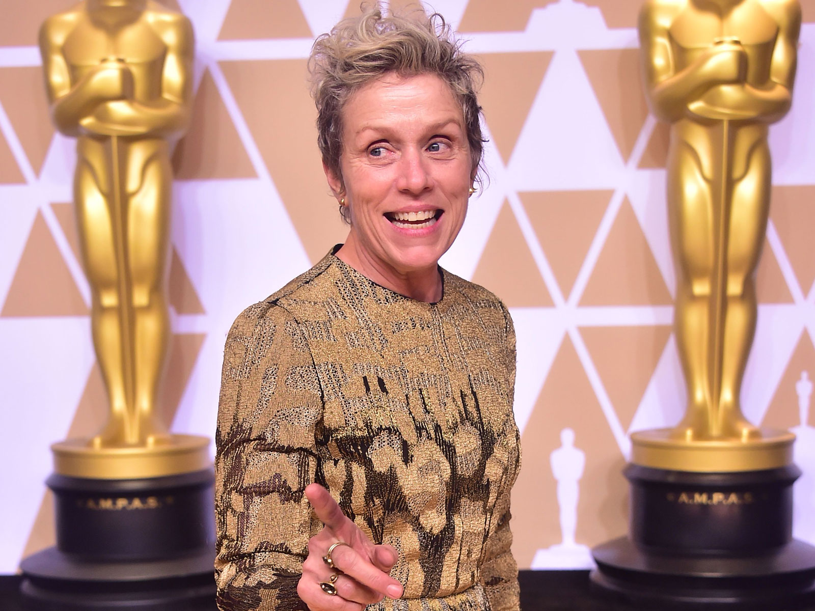 Wolfgang Puck's Photographer Helped Recover Frances McDormand's Stolen Oscar