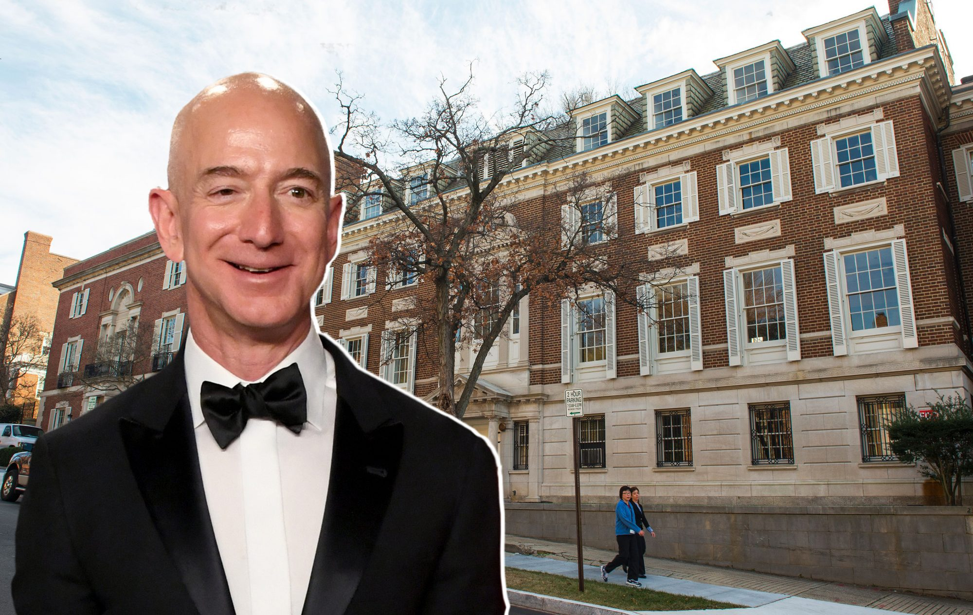 Jeff Bezos Is Building Himself a Giant Party Pad in DC, Complete with Solarium, Whiskey Cellar and 25 Bathrooms
