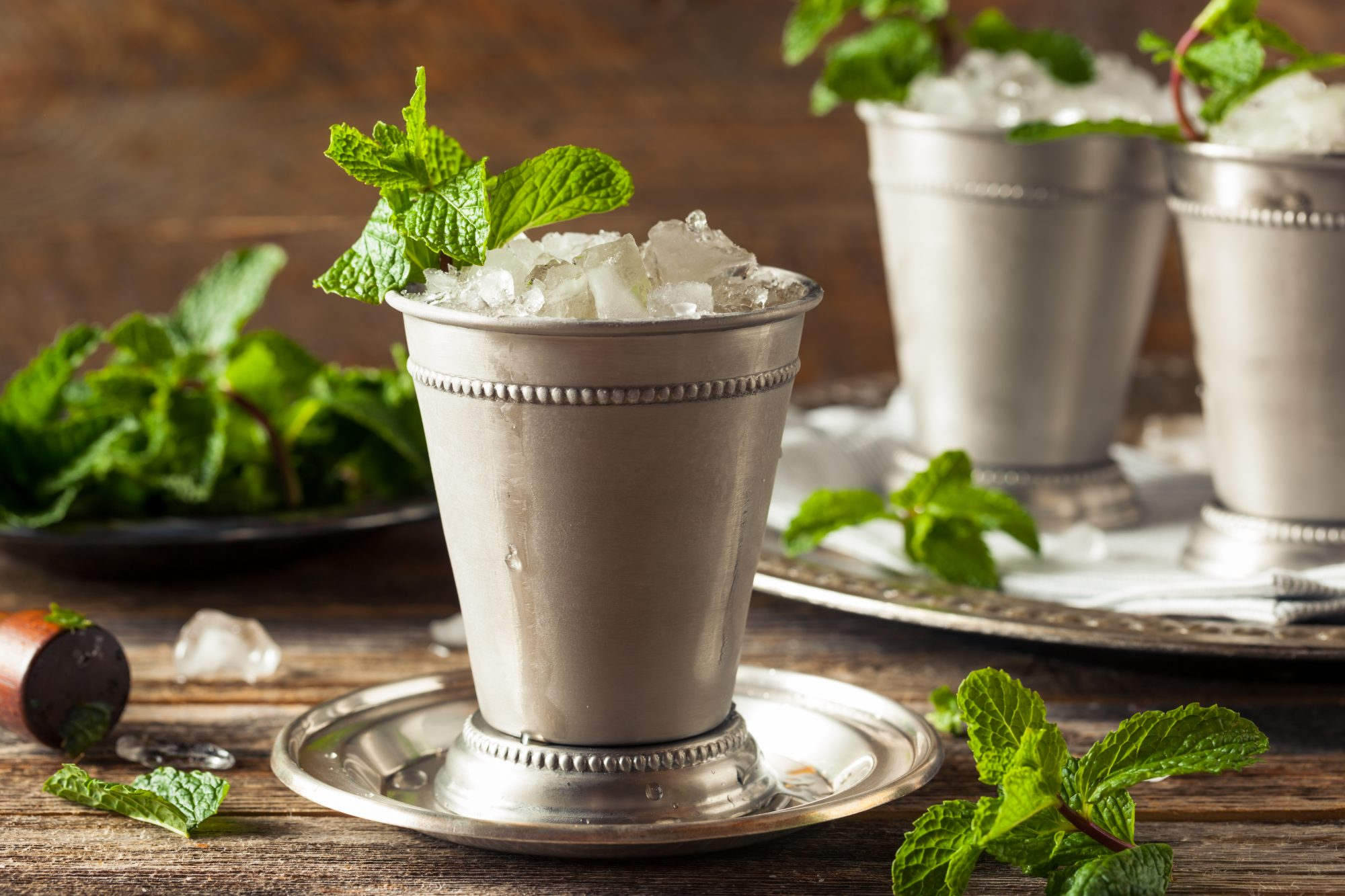 Kentucky derby mint julep trick